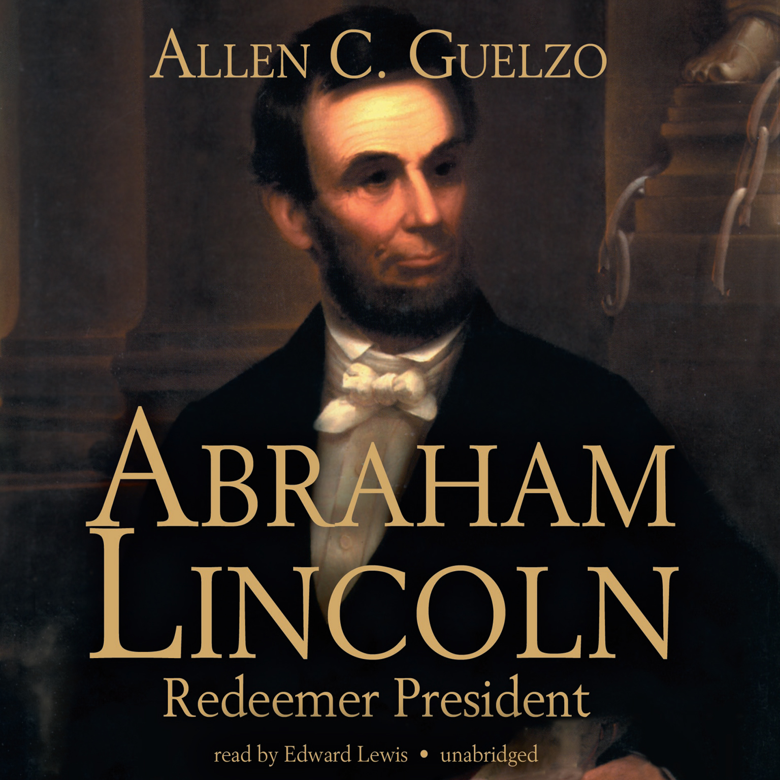 Printable Abraham Lincoln: Redeemer President Audiobook Cover Art