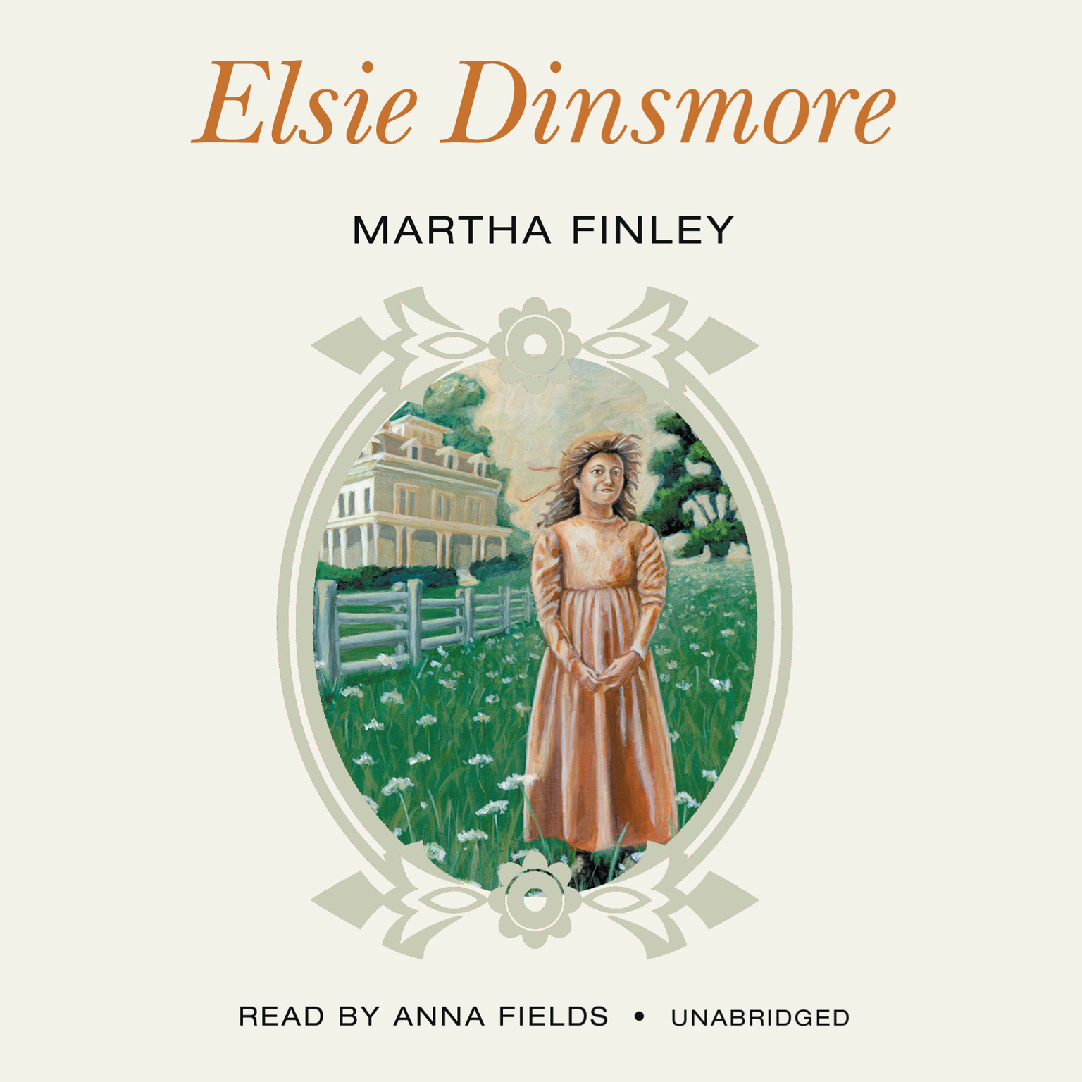 Printable Elsie Dinsmore Audiobook Cover Art