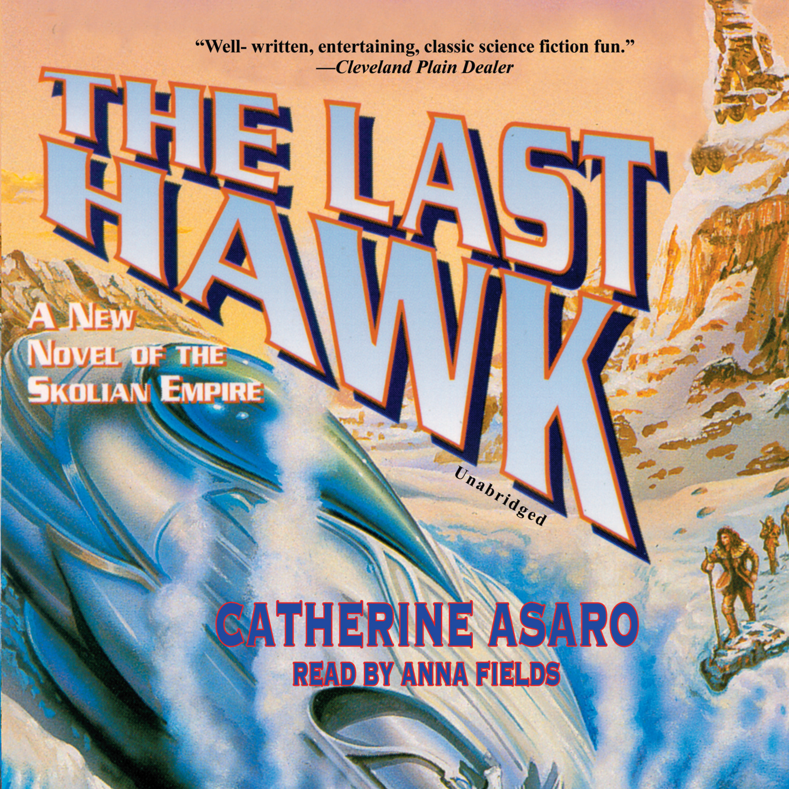 Printable The Last Hawk Audiobook Cover Art