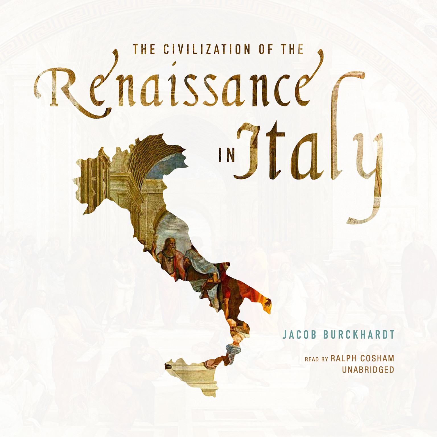 Printable The Civilization of the Renaissance in Italy Audiobook Cover Art