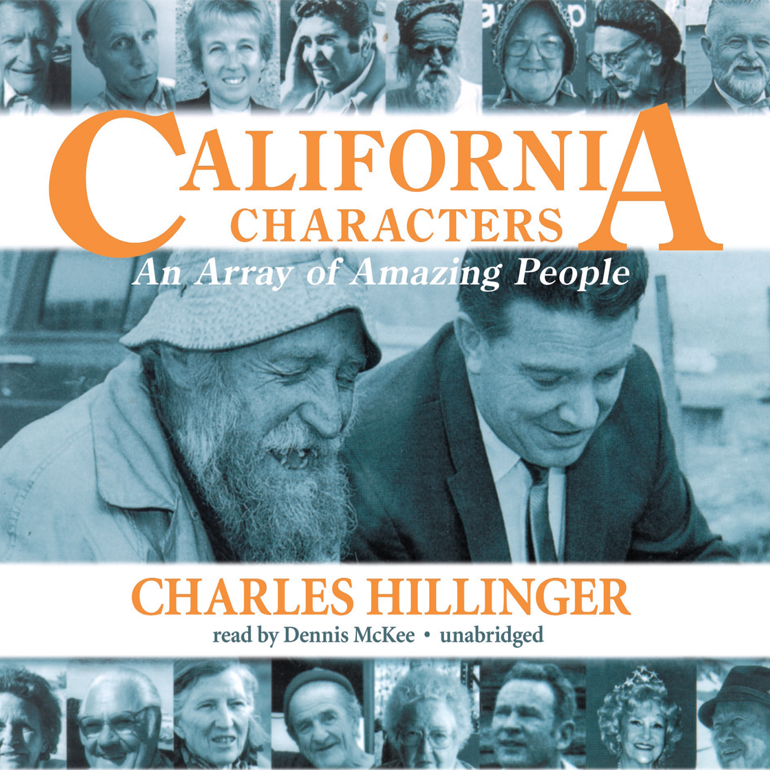 Printable California Characters: An Array of Amazing People Audiobook Cover Art