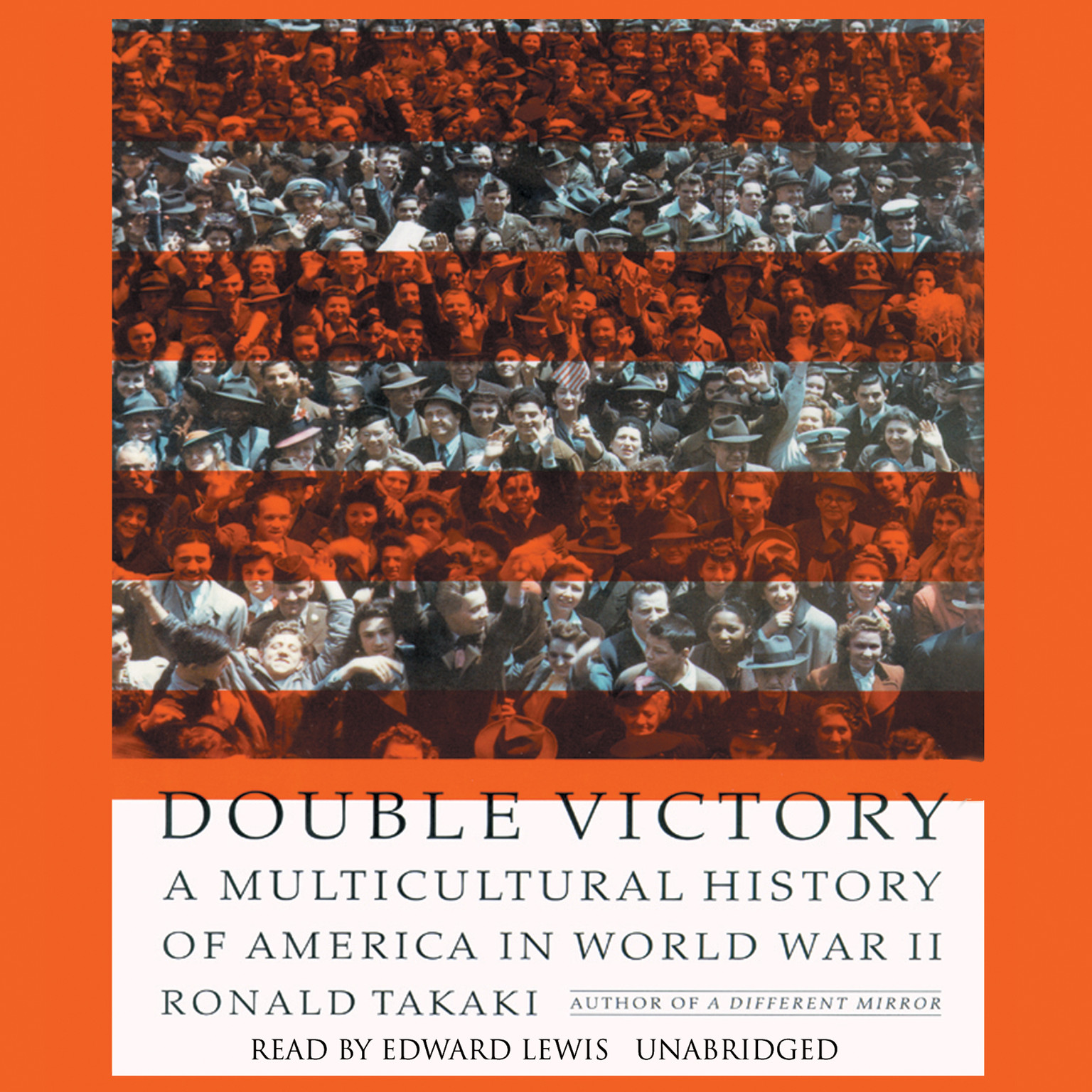 Printable Double Victory: A Multicultural History of America in World War II Audiobook Cover Art