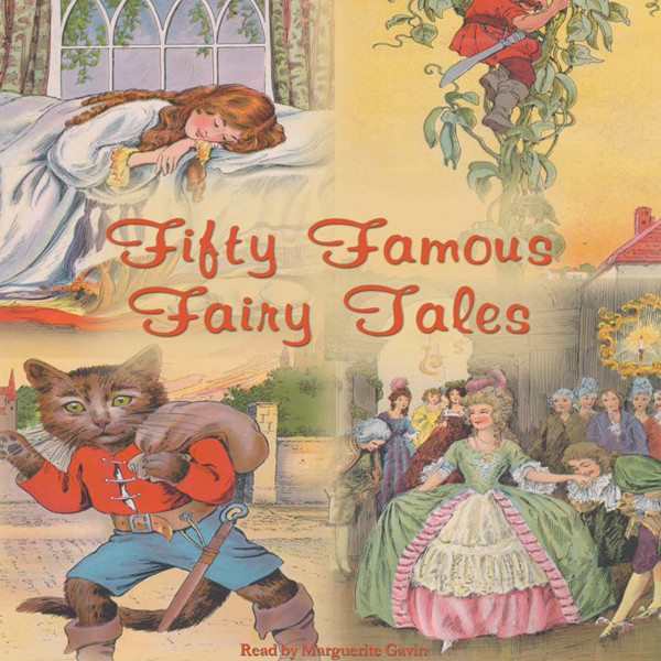 Printable Fifty Famous Fairy Tales Audiobook Cover Art