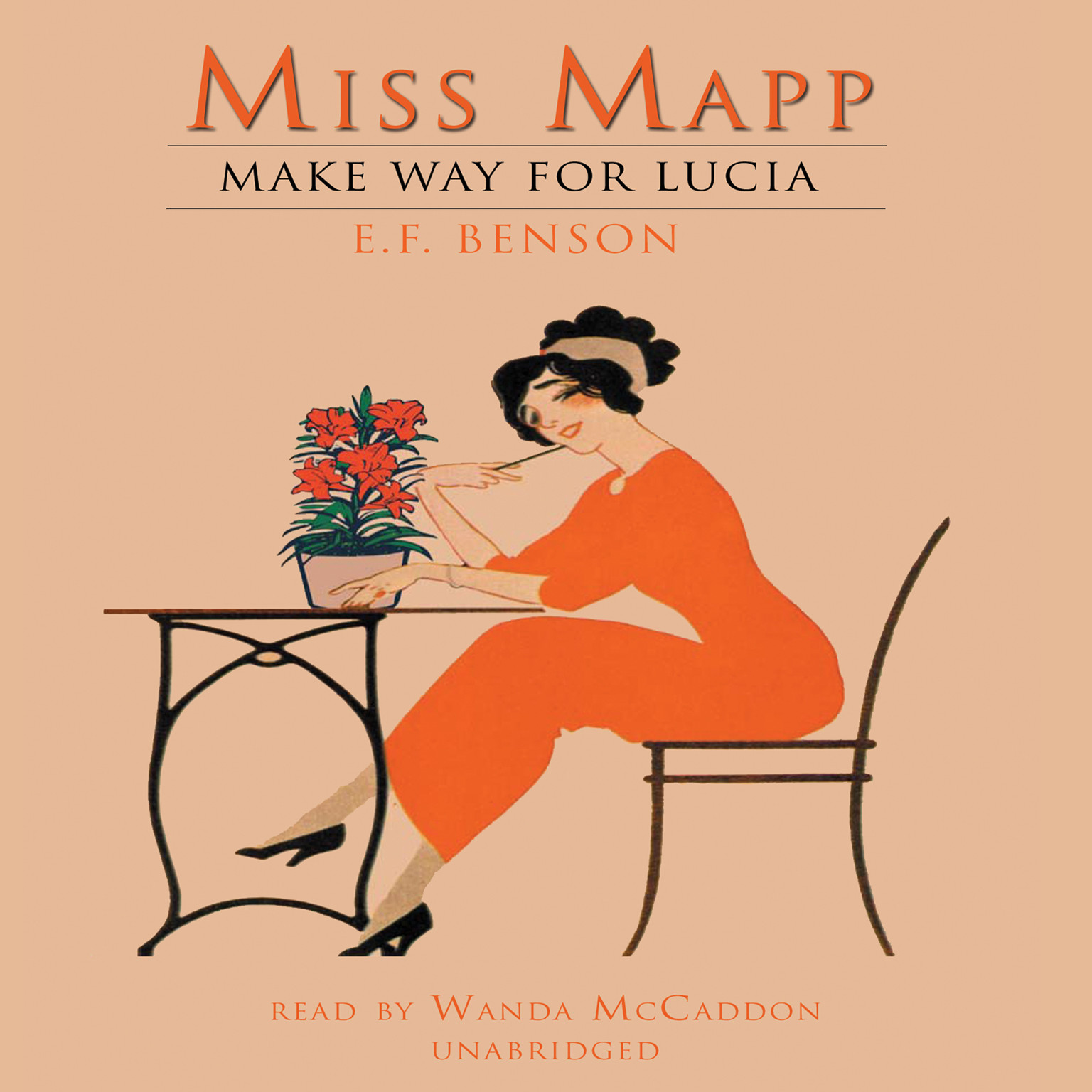 Printable Miss Mapp Audiobook Cover Art
