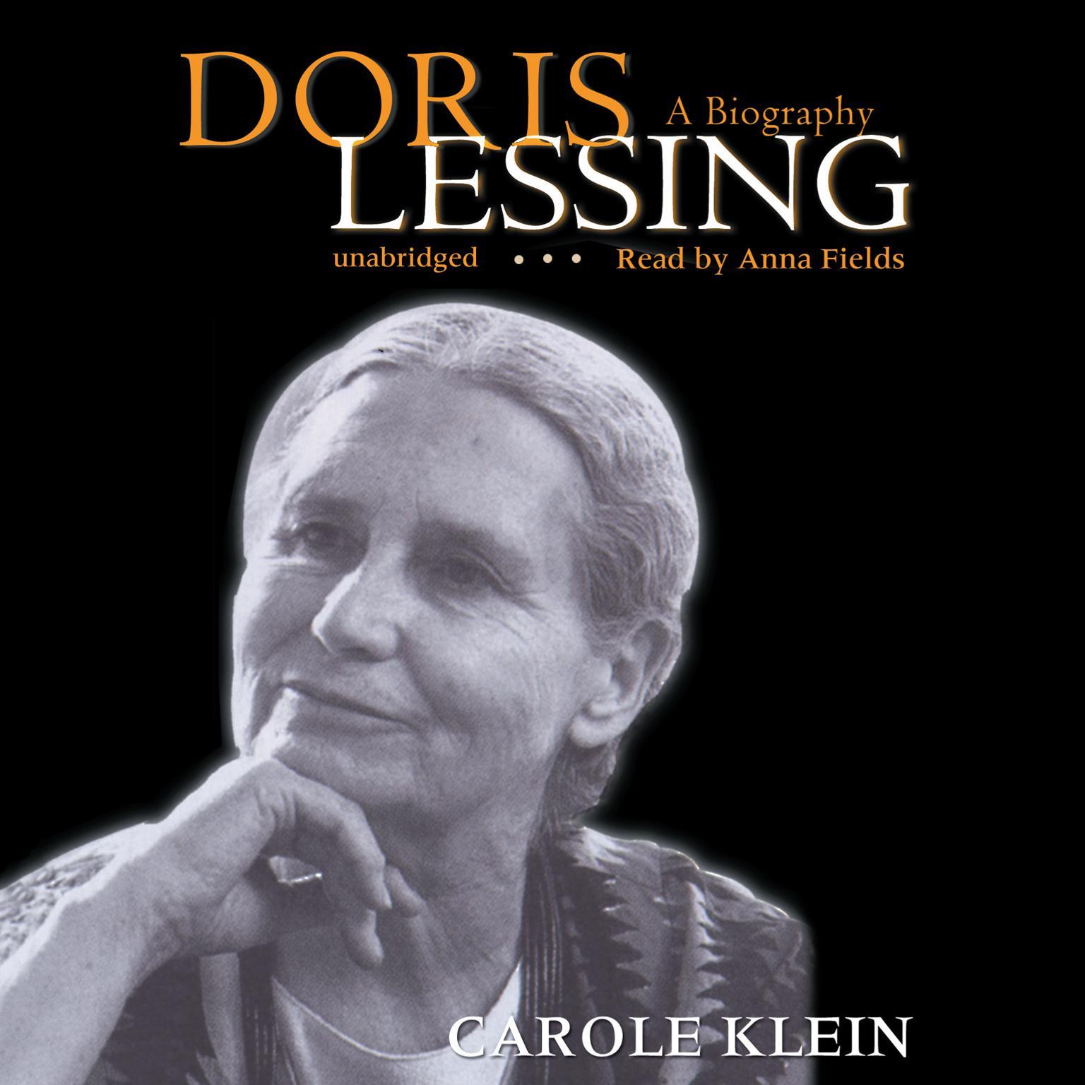 Printable Doris Lessing: A Biography Audiobook Cover Art