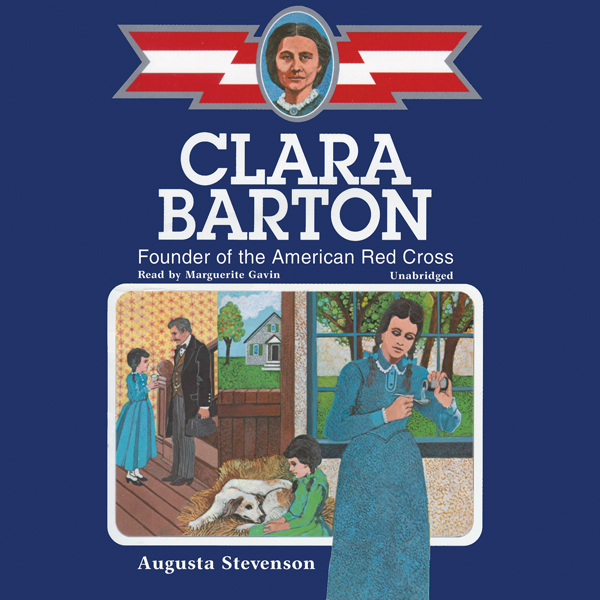 Printable Clara Barton: Founder of the American Red Cross Audiobook Cover Art
