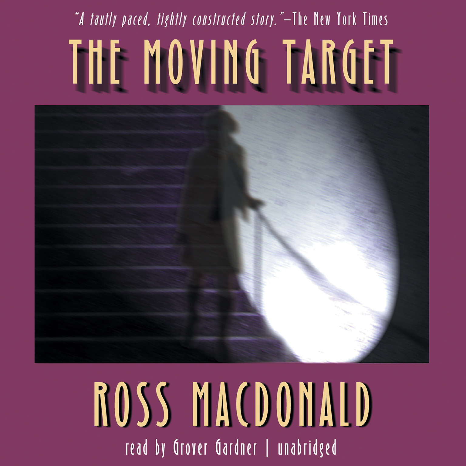 Printable The Moving Target Audiobook Cover Art