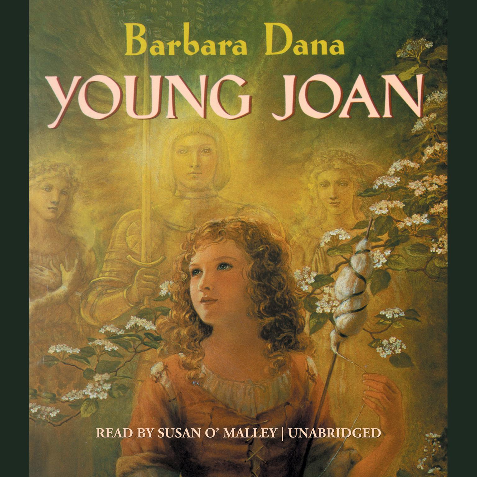 Printable Young Joan Audiobook Cover Art
