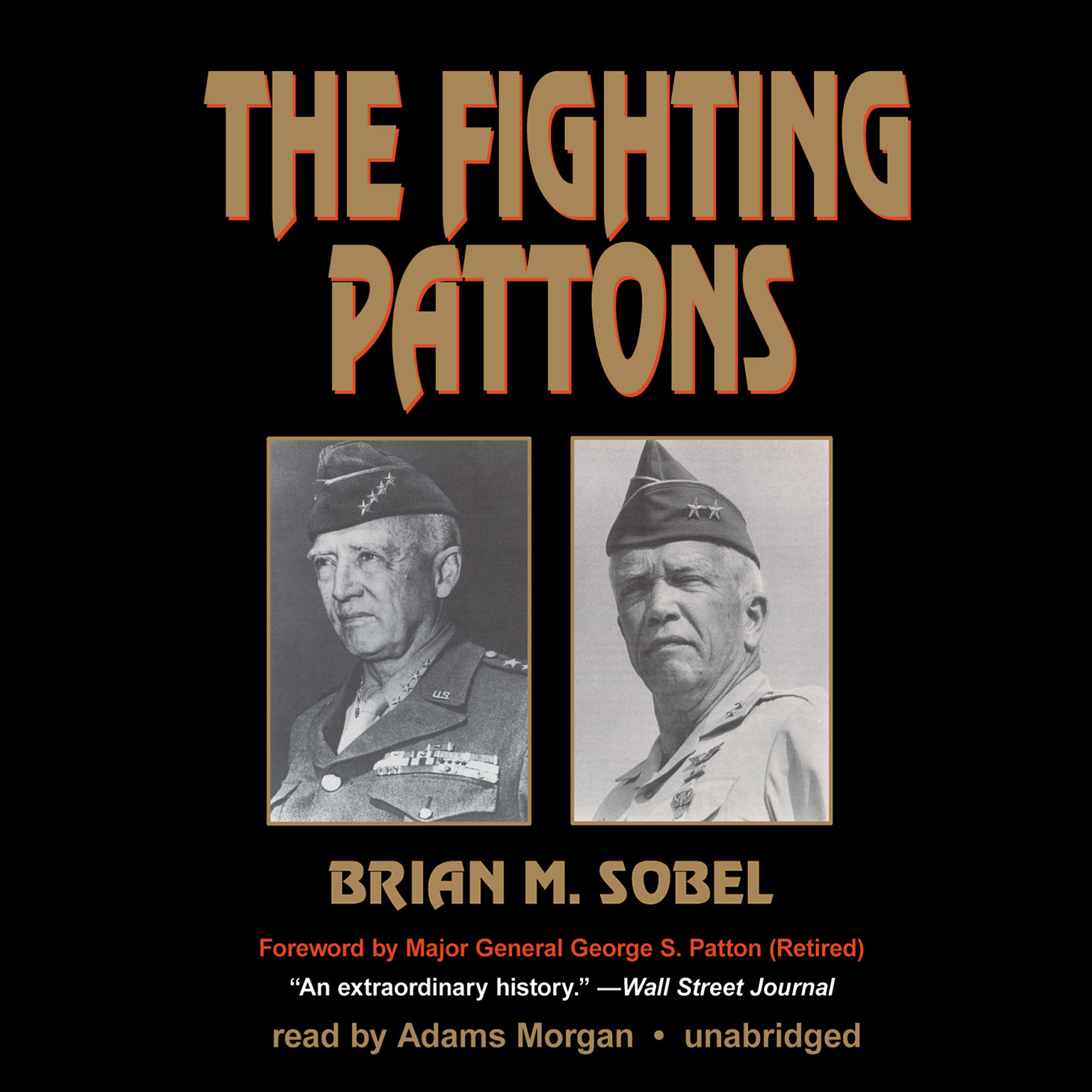 Printable The Fighting Pattons Audiobook Cover Art