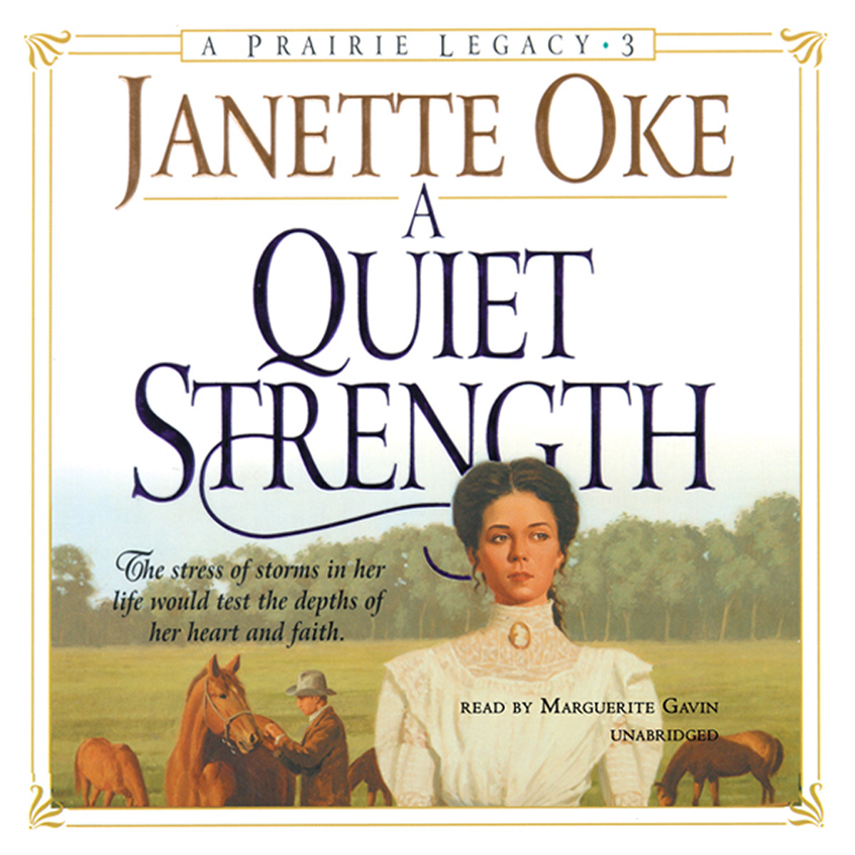 Printable A Quiet Strength Audiobook Cover Art
