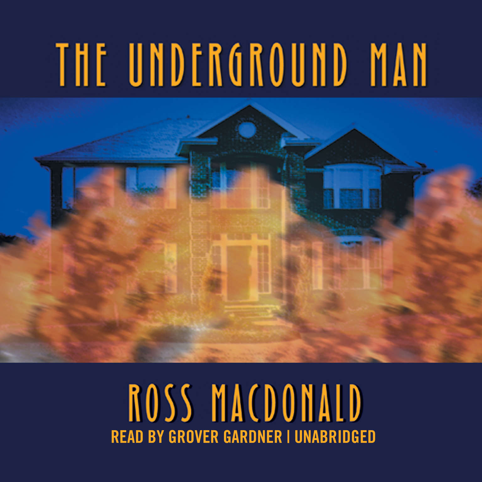 Printable The Underground Man Audiobook Cover Art