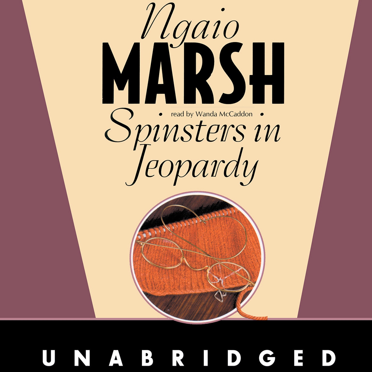 Printable Spinsters in Jeopardy Audiobook Cover Art