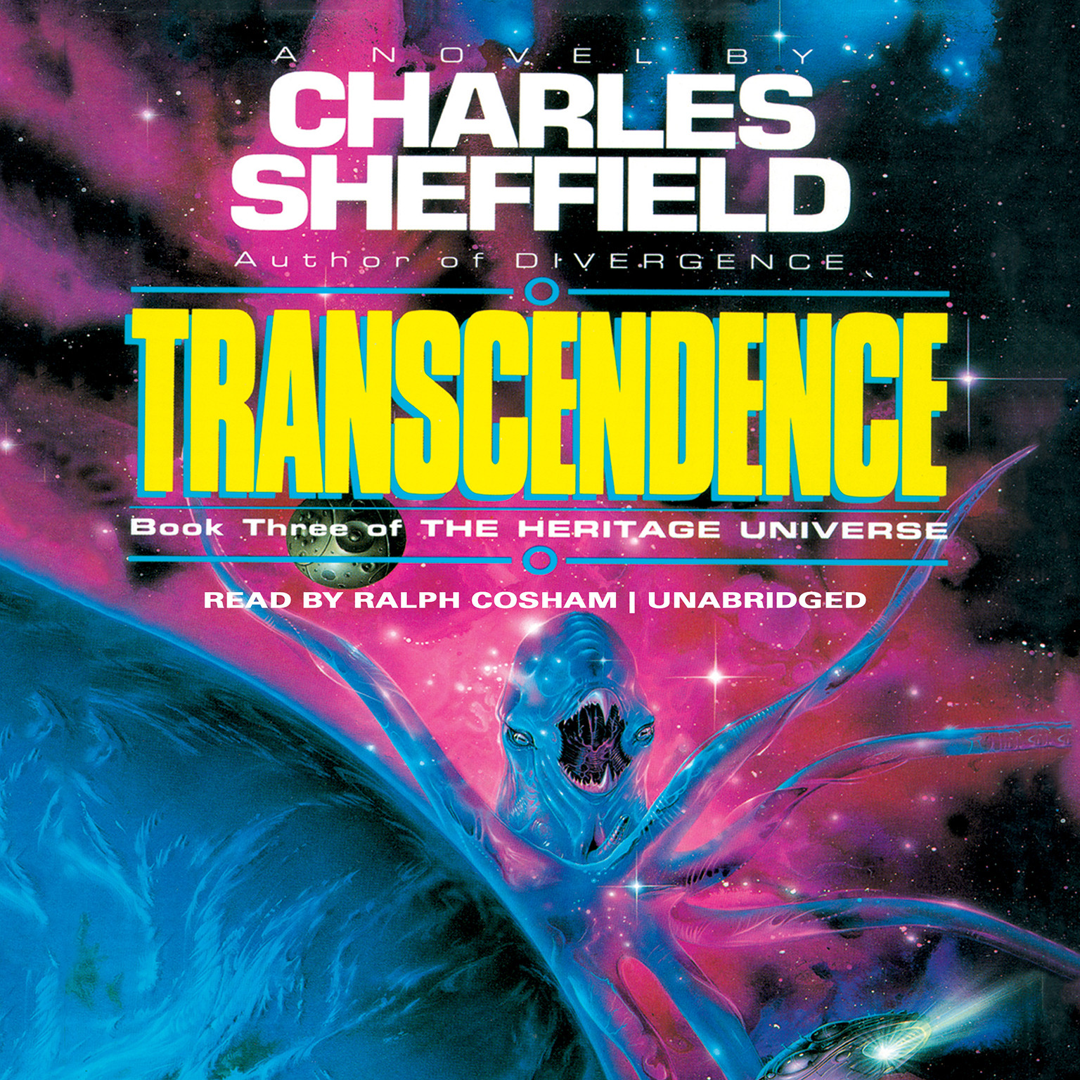 Printable Transcendence Audiobook Cover Art