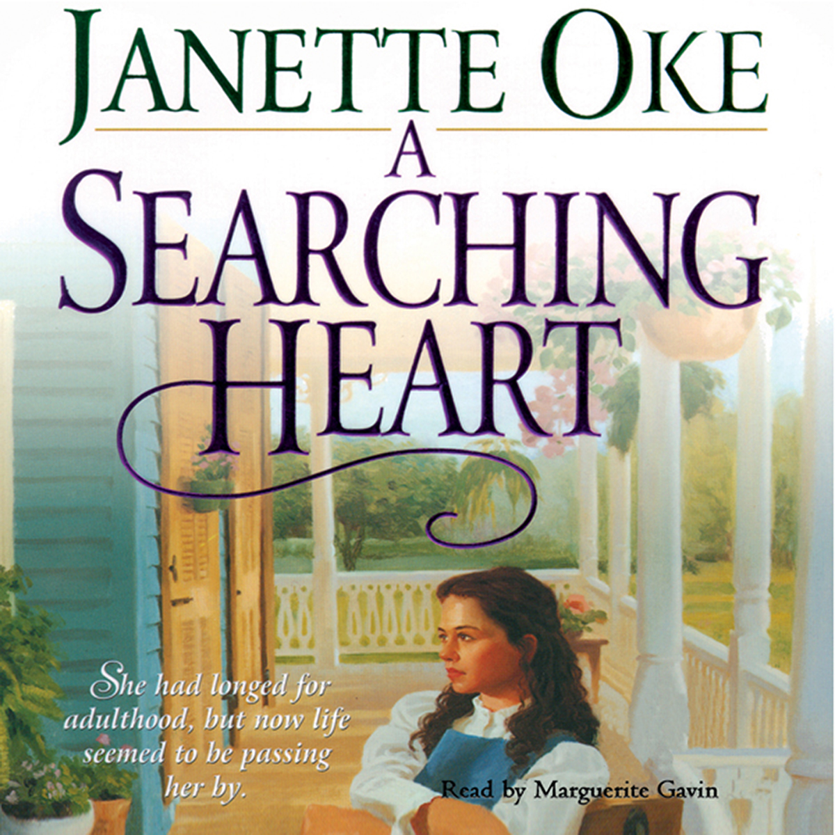 Printable A Searching Heart Audiobook Cover Art