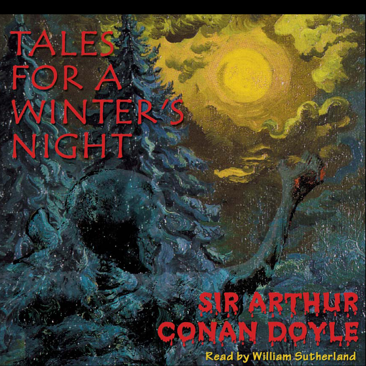 Printable Tales for a Winter's Night Audiobook Cover Art