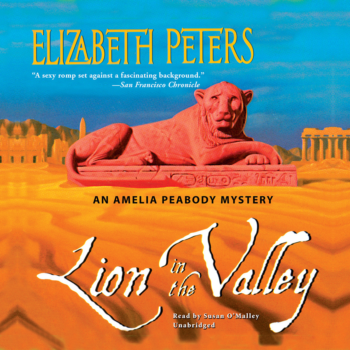Printable Lion in the Valley Audiobook Cover Art