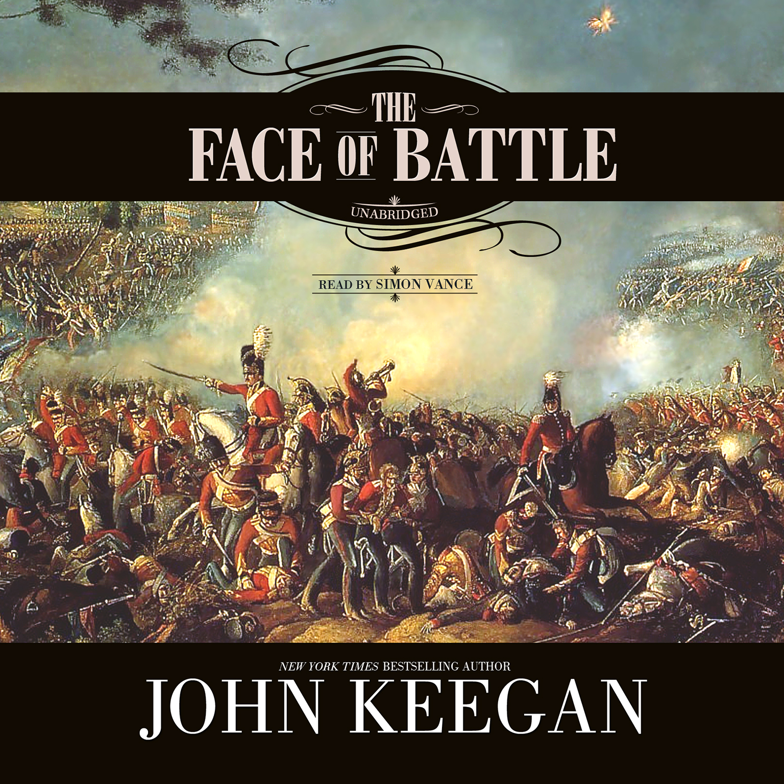 Printable The Face of Battle Audiobook Cover Art
