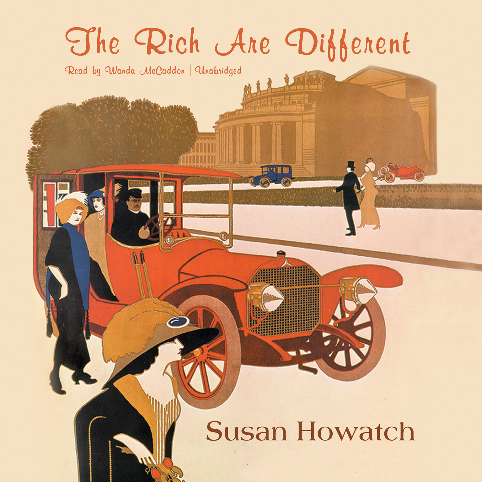 Printable The Rich Are Different Audiobook Cover Art