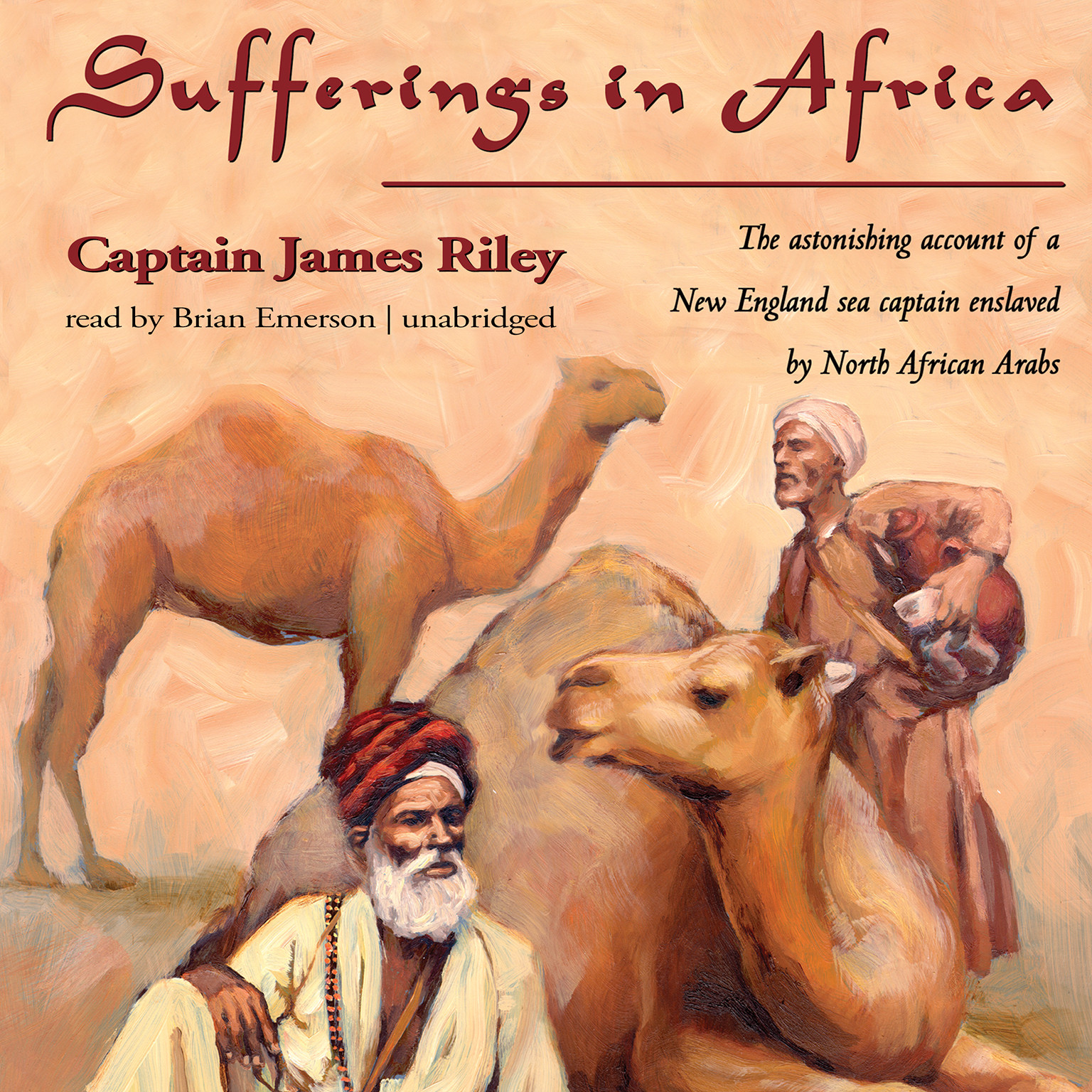 Printable Sufferings in Africa: Captain Riley's Narrative Audiobook Cover Art