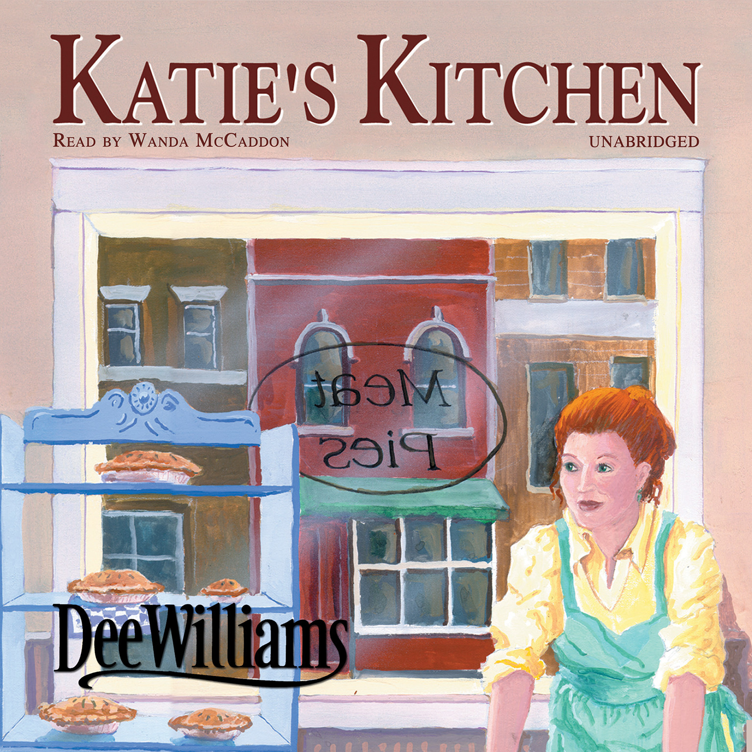 Printable Katie's Kitchen Audiobook Cover Art