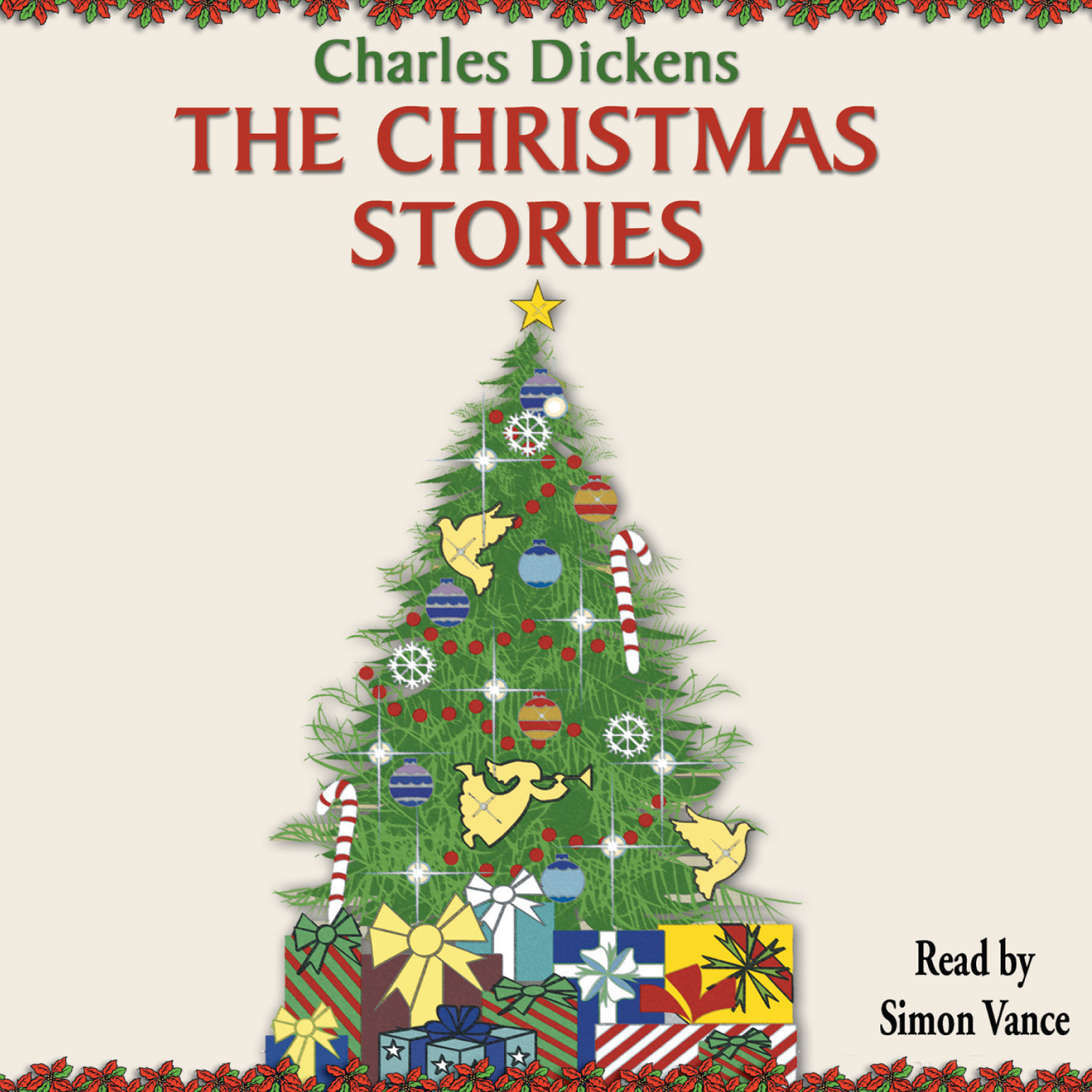 Printable The Christmas Stories Audiobook Cover Art