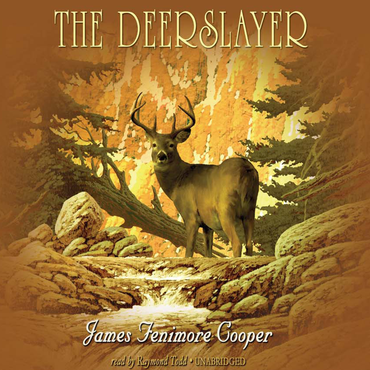 Printable The Deerslayer Audiobook Cover Art