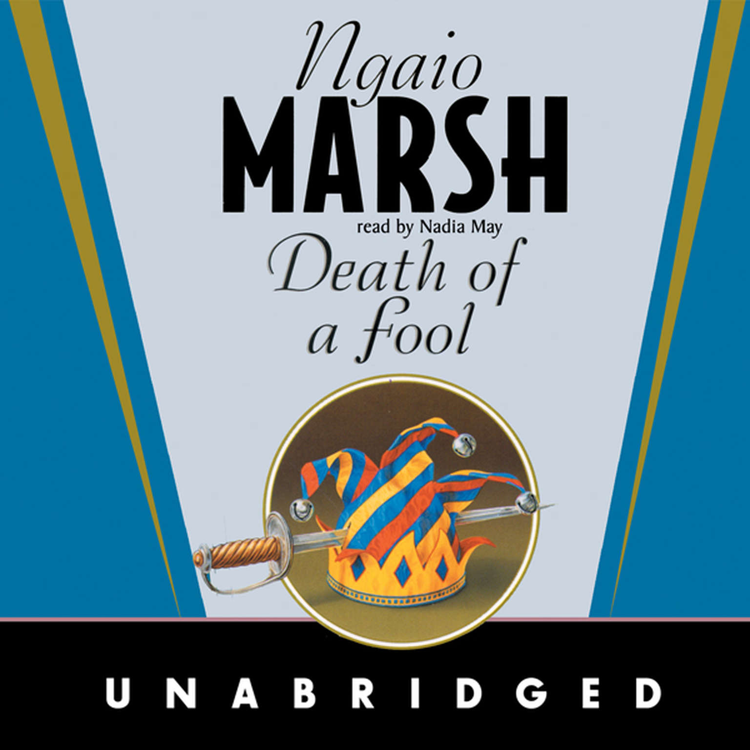 Printable Death of a Fool Audiobook Cover Art