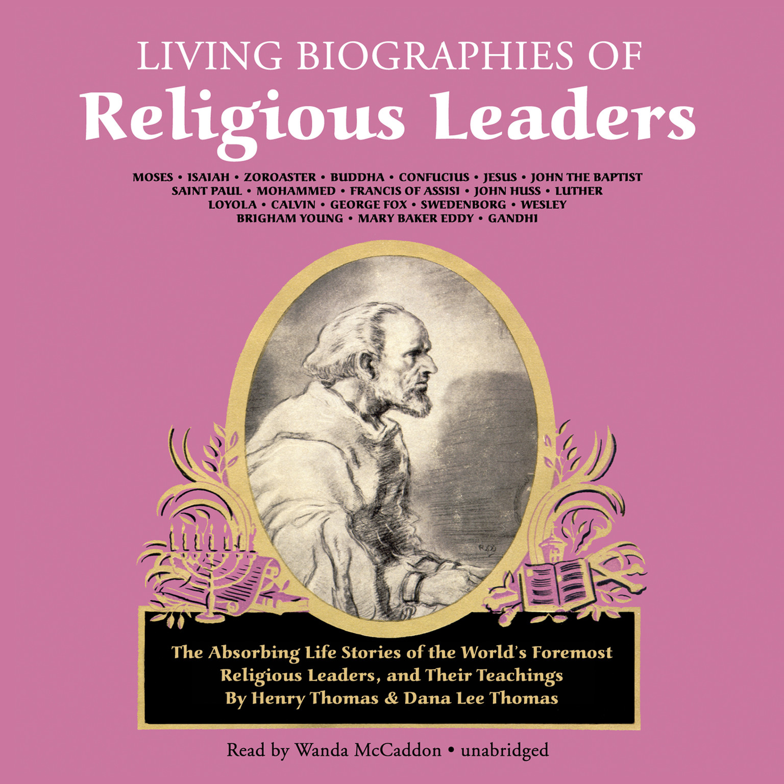 Printable Living Biographies of Religious Leaders Audiobook Cover Art