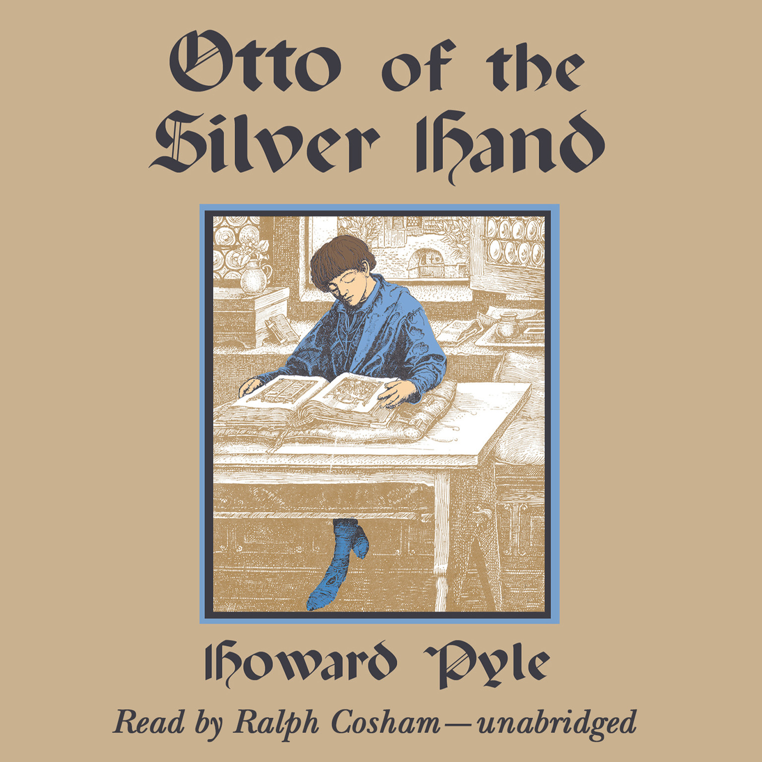 Printable Otto of the Silver Hand Audiobook Cover Art