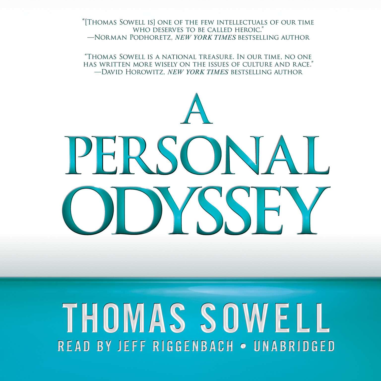 Printable A Personal Odyssey Audiobook Cover Art