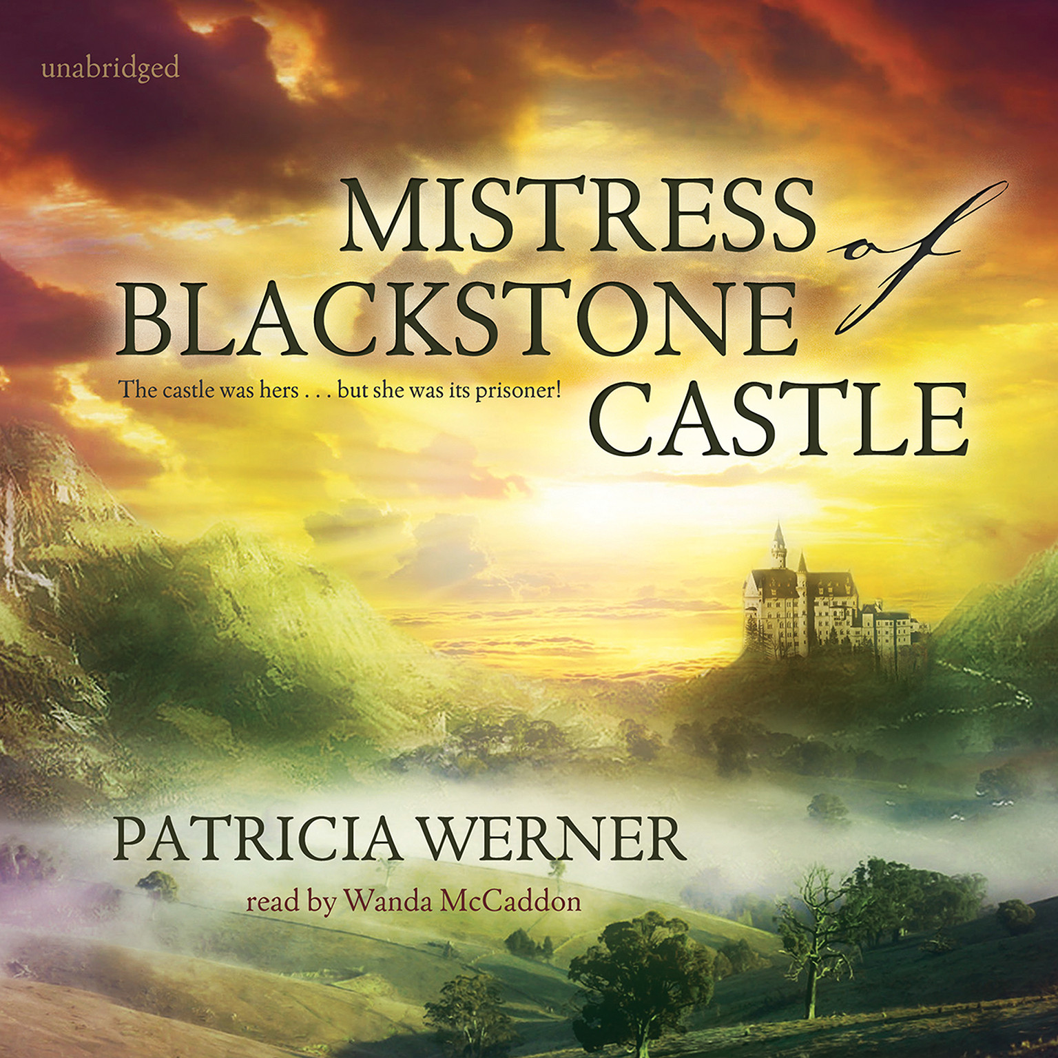 Printable Mistress of Blackstone Castle Audiobook Cover Art