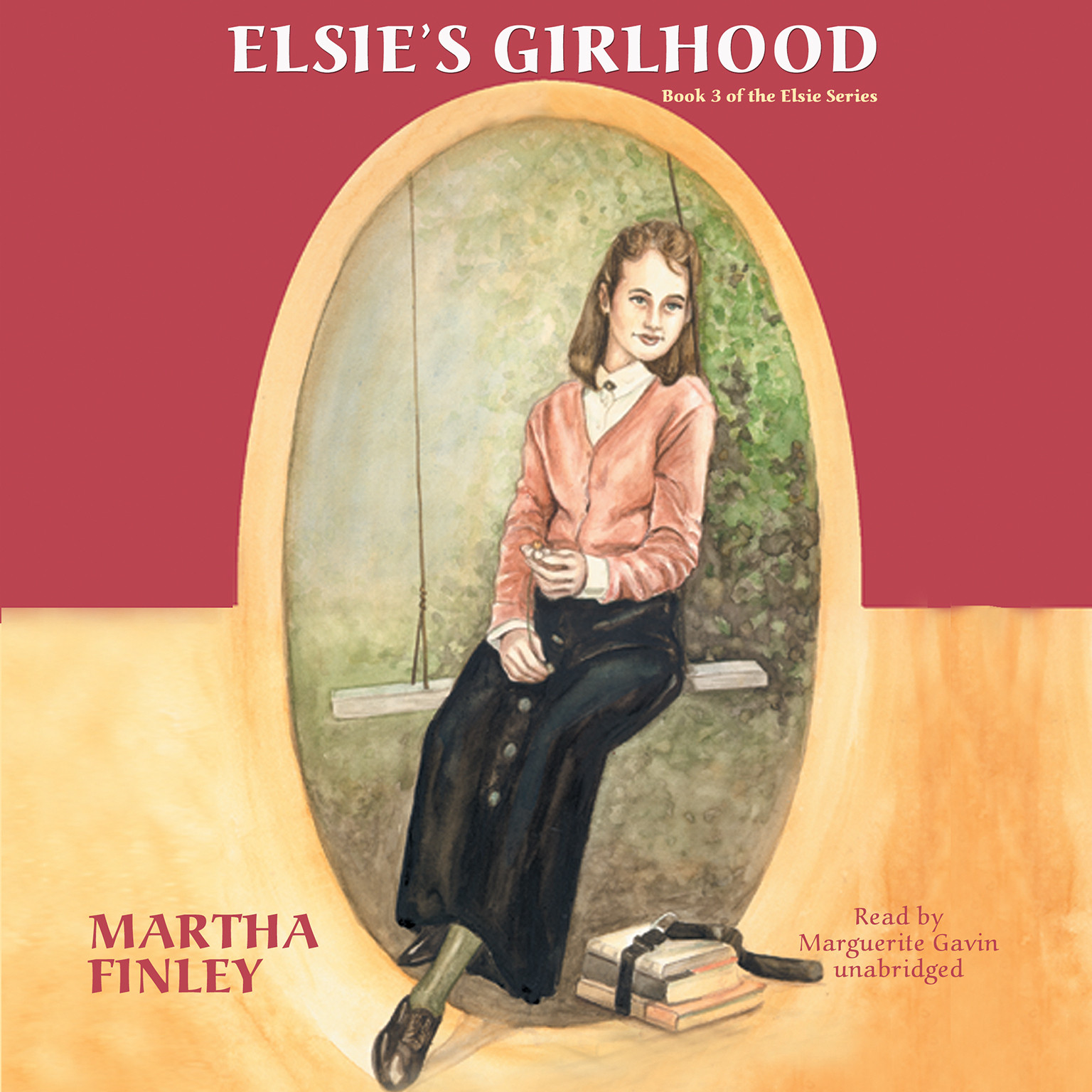 Printable Elsie's Girlhood Audiobook Cover Art