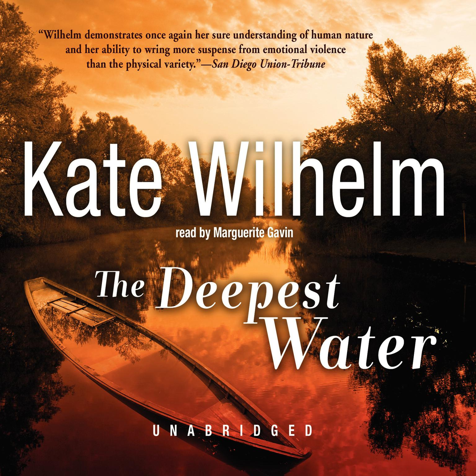Printable The Deepest Water Audiobook Cover Art