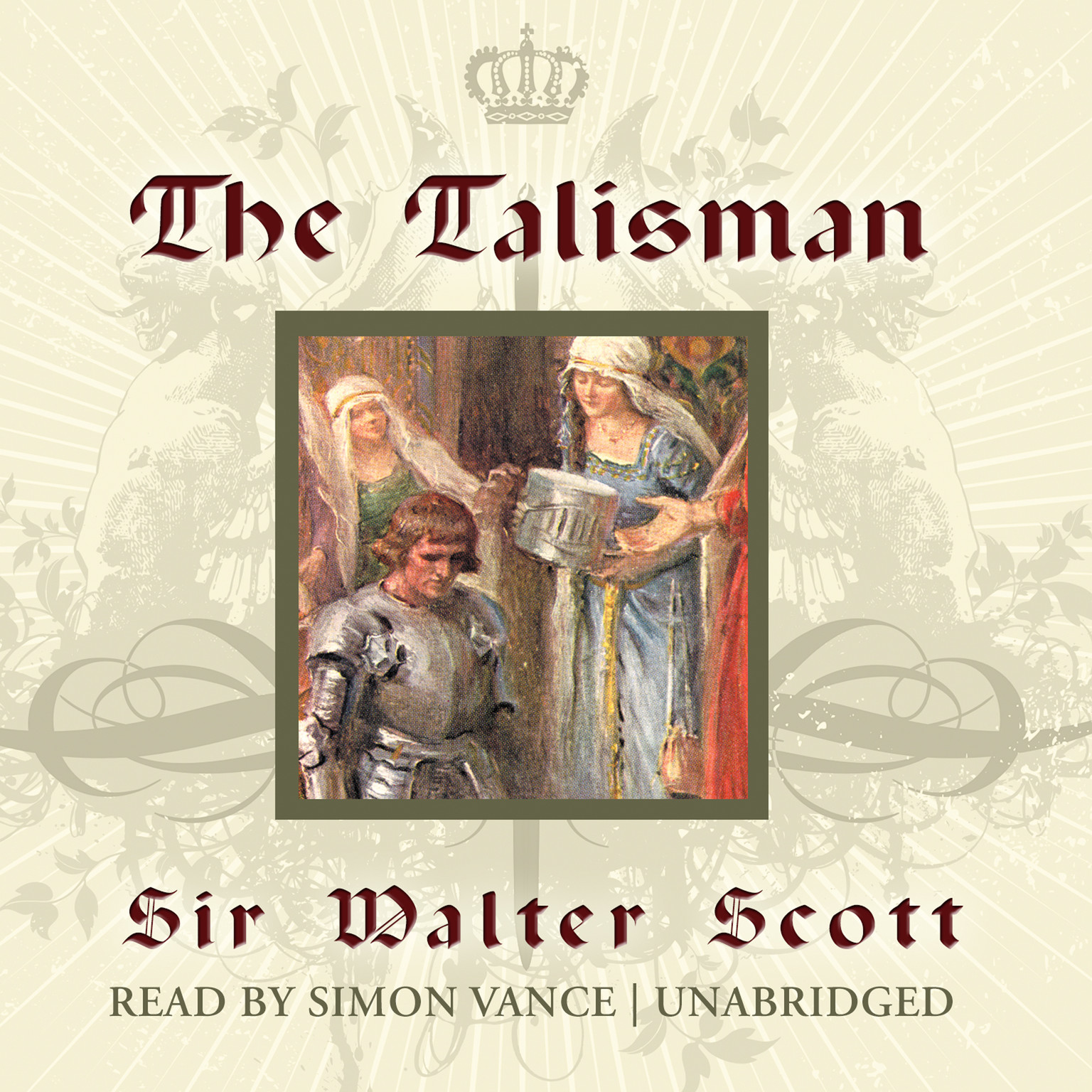 Printable The Talisman Audiobook Cover Art