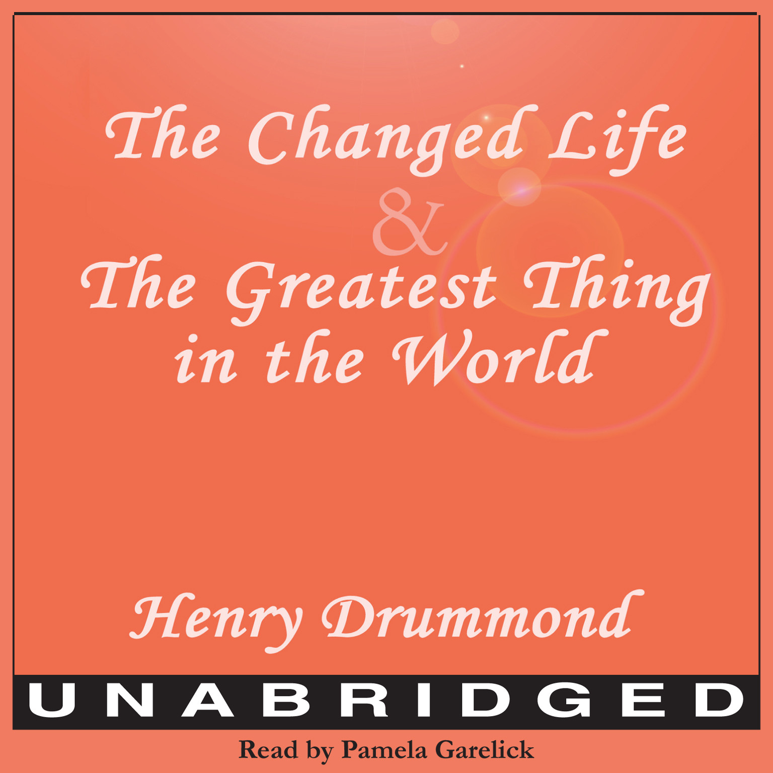 Printable The Changed Life and The Greatest Thing in The World Audiobook Cover Art