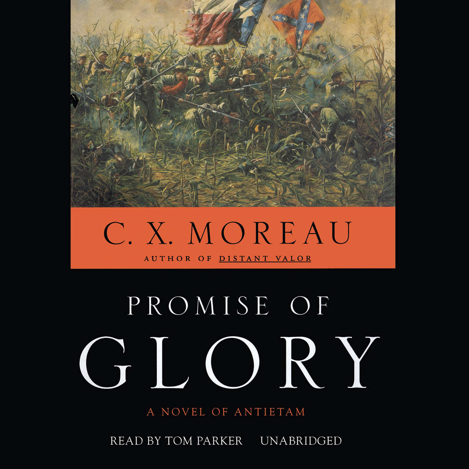 Printable Promise of Glory: A Novel of Antietam Audiobook Cover Art