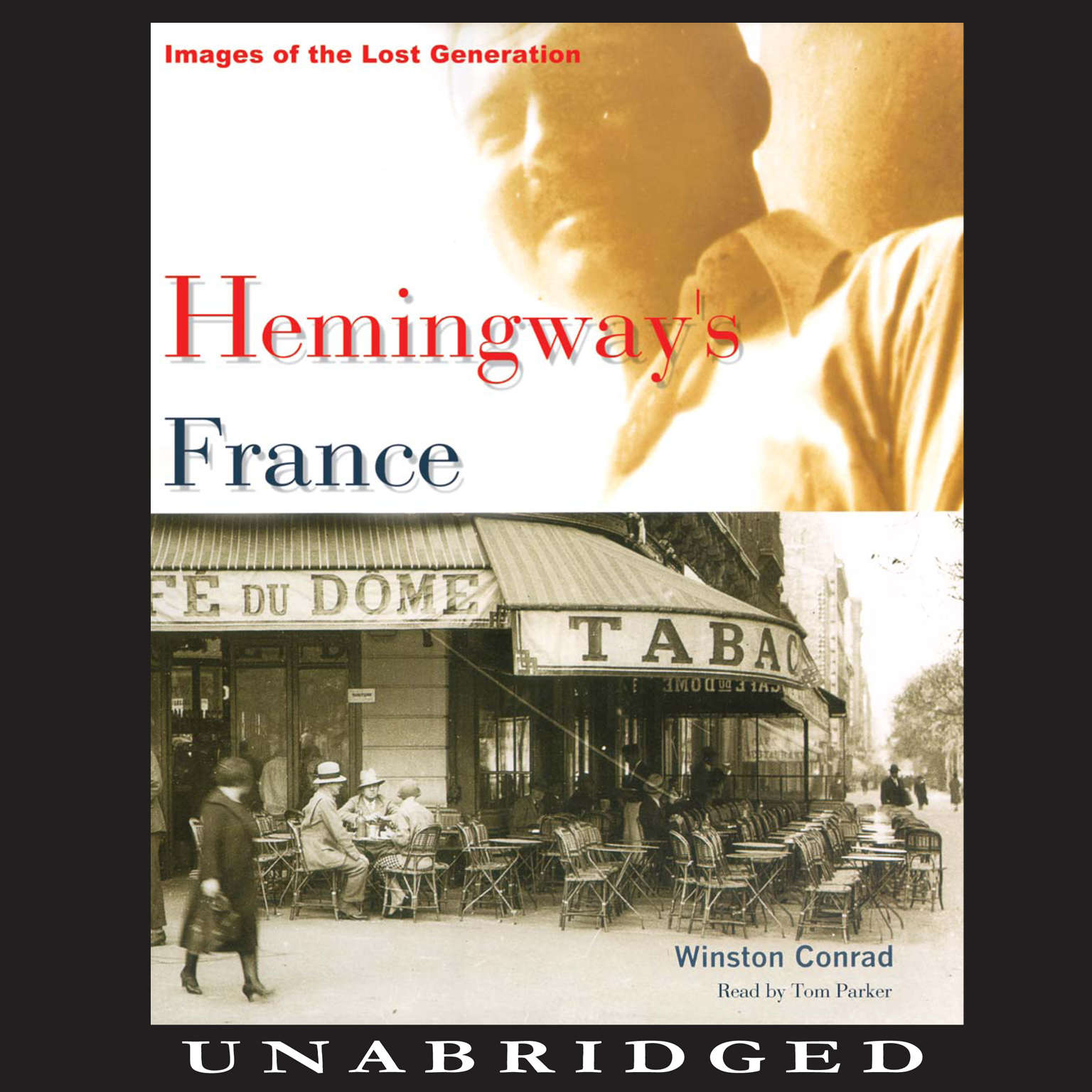 Printable Hemingway's France: Images of the Lost Generation Audiobook Cover Art