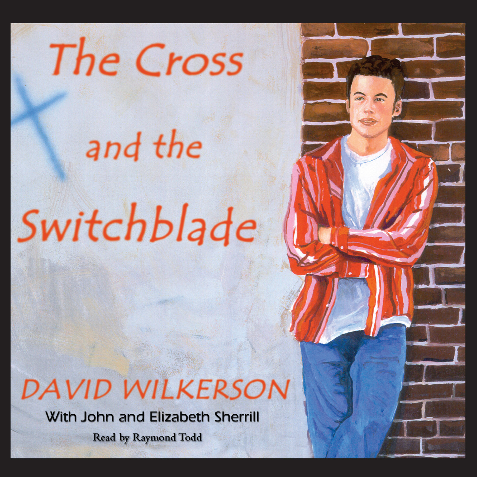 Printable The Cross and the Switchblade Audiobook Cover Art