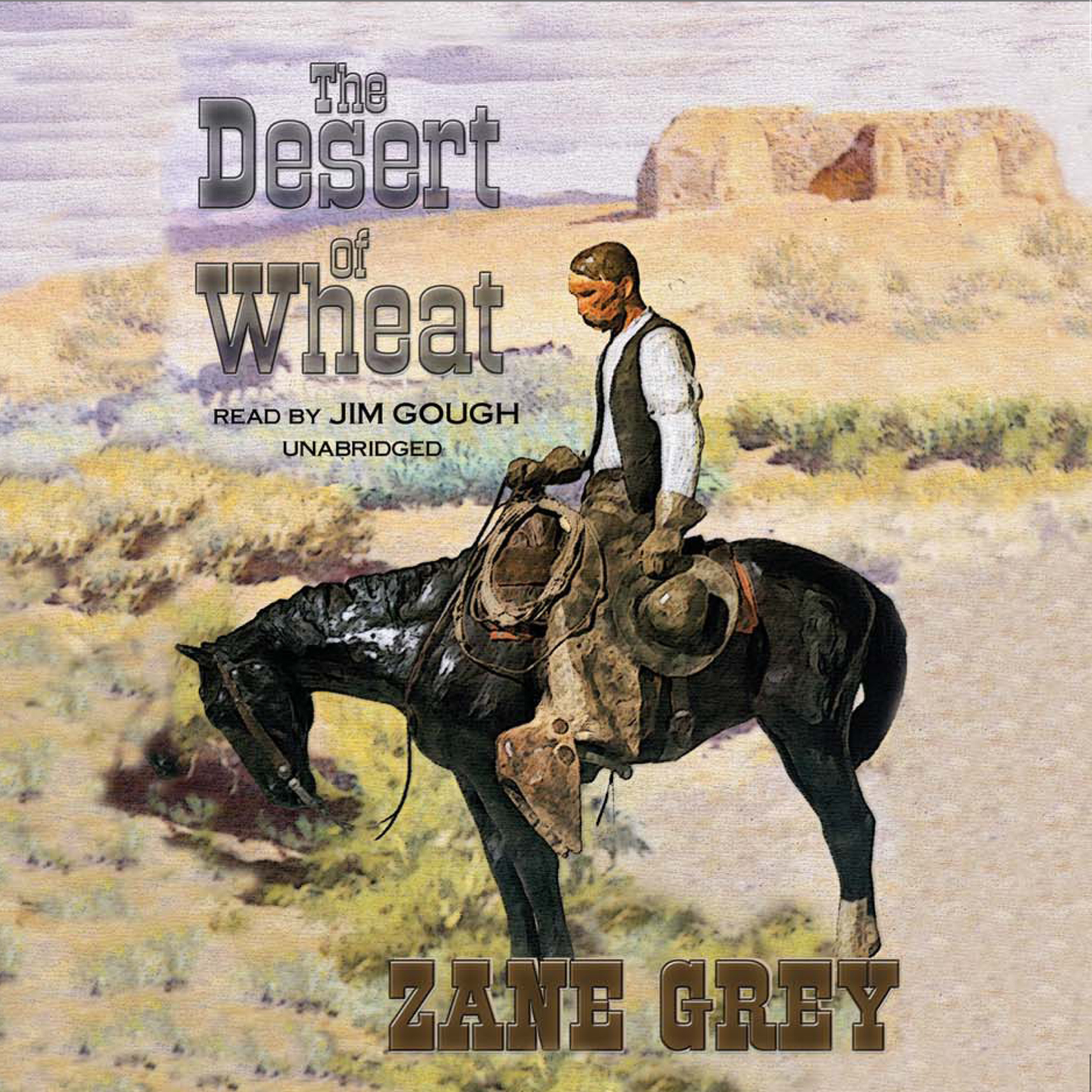 Printable The Desert of Wheat Audiobook Cover Art