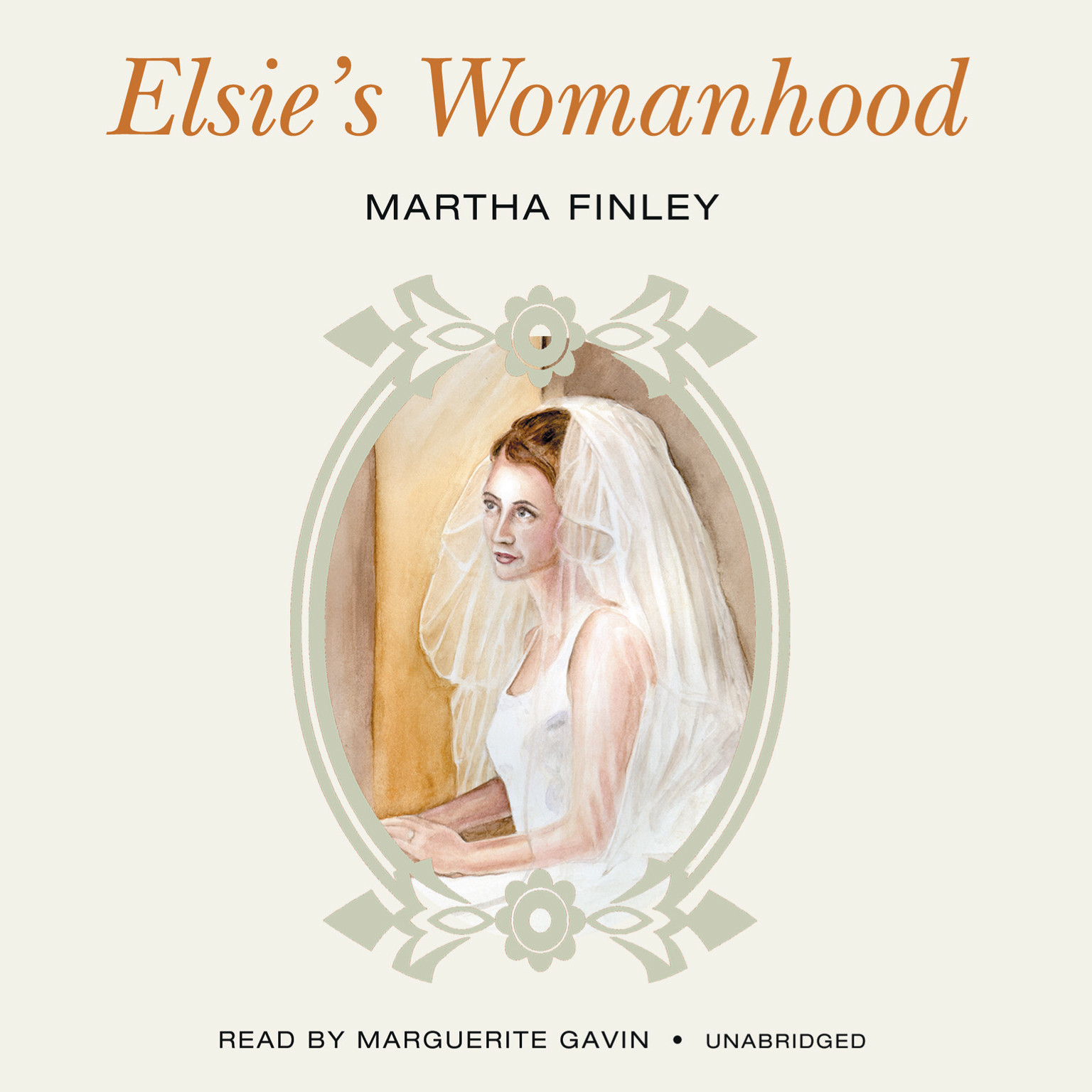 Printable Elsie's Womanhood Audiobook Cover Art