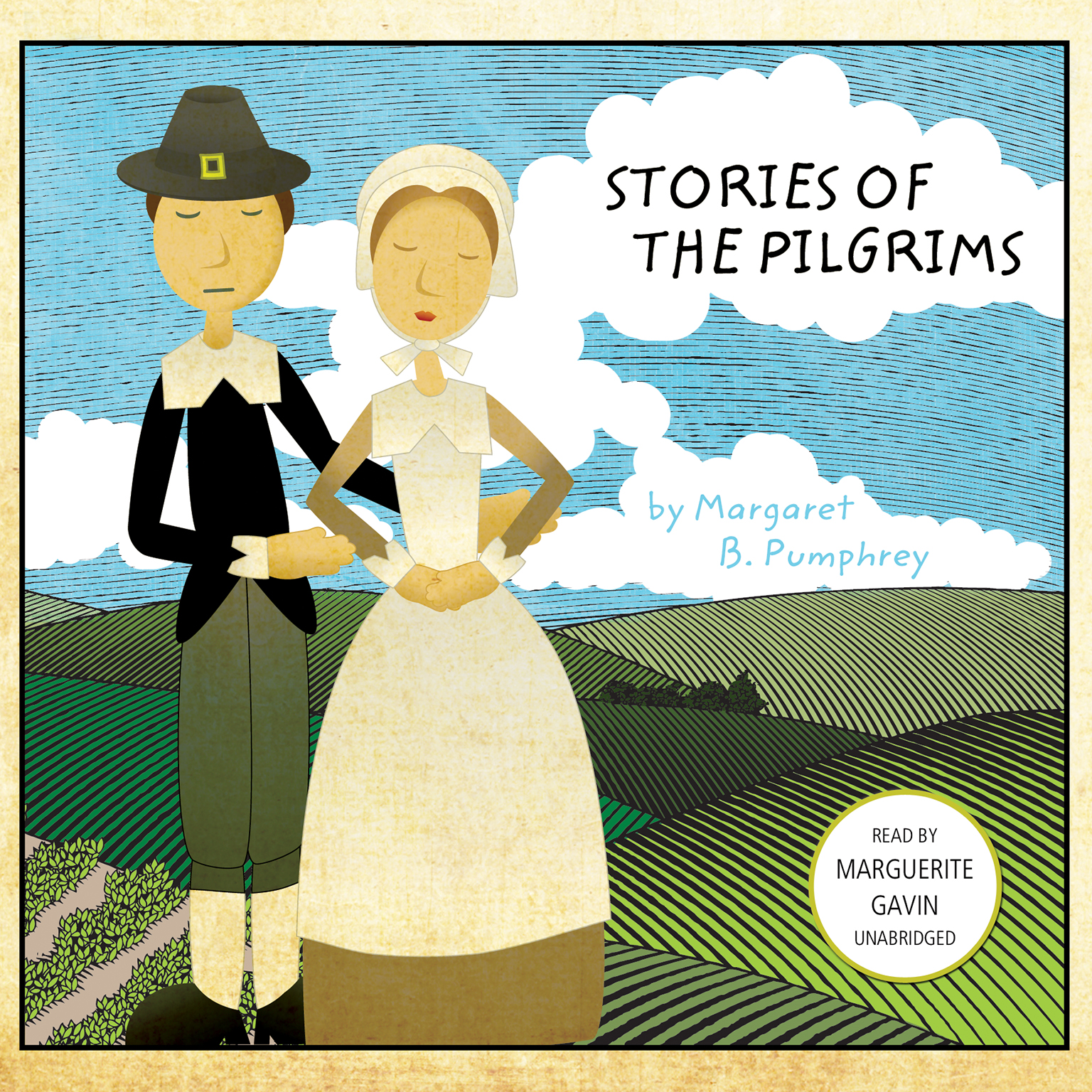 Printable Stories of the Pilgrims Audiobook Cover Art