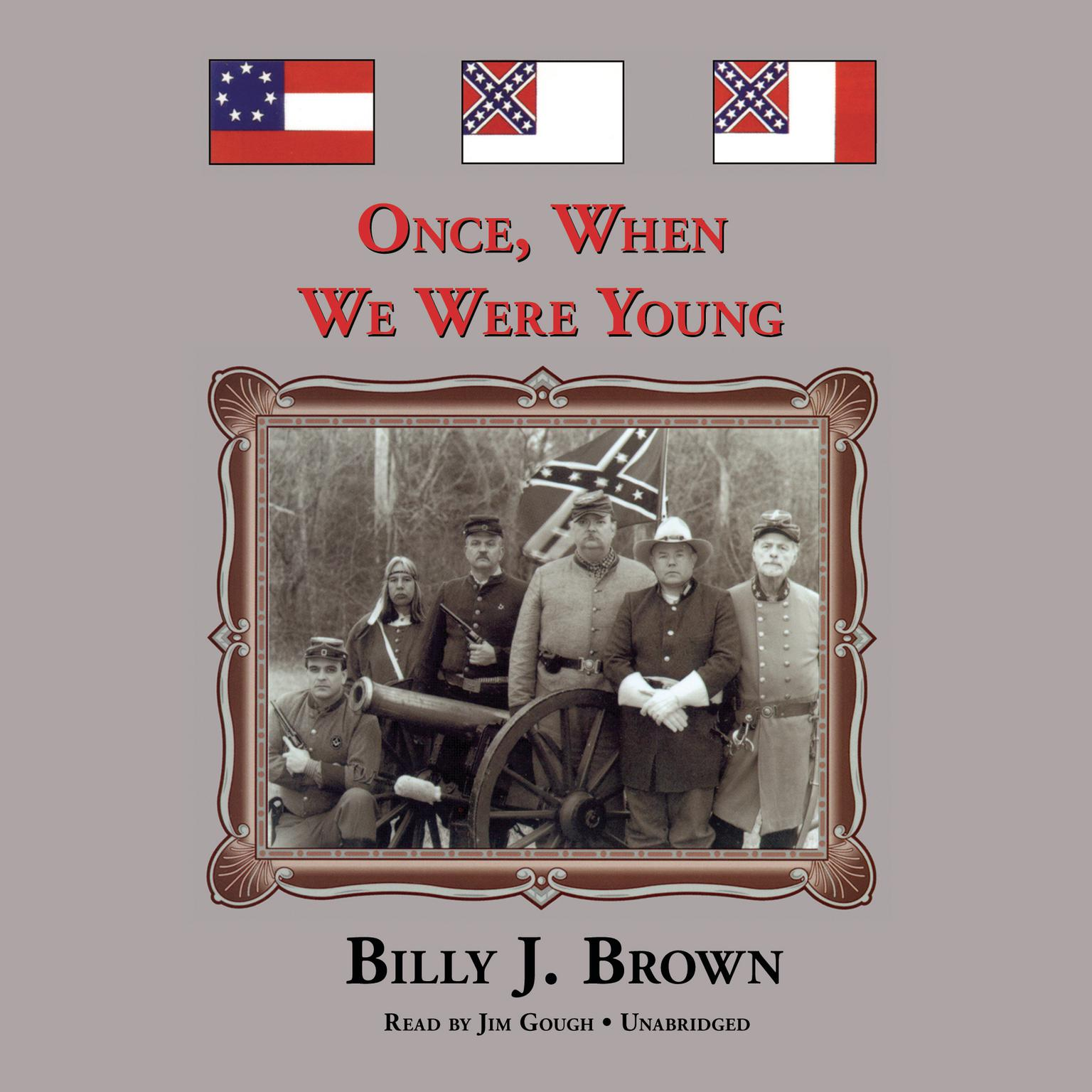 Printable Once, When We Were Young Audiobook Cover Art