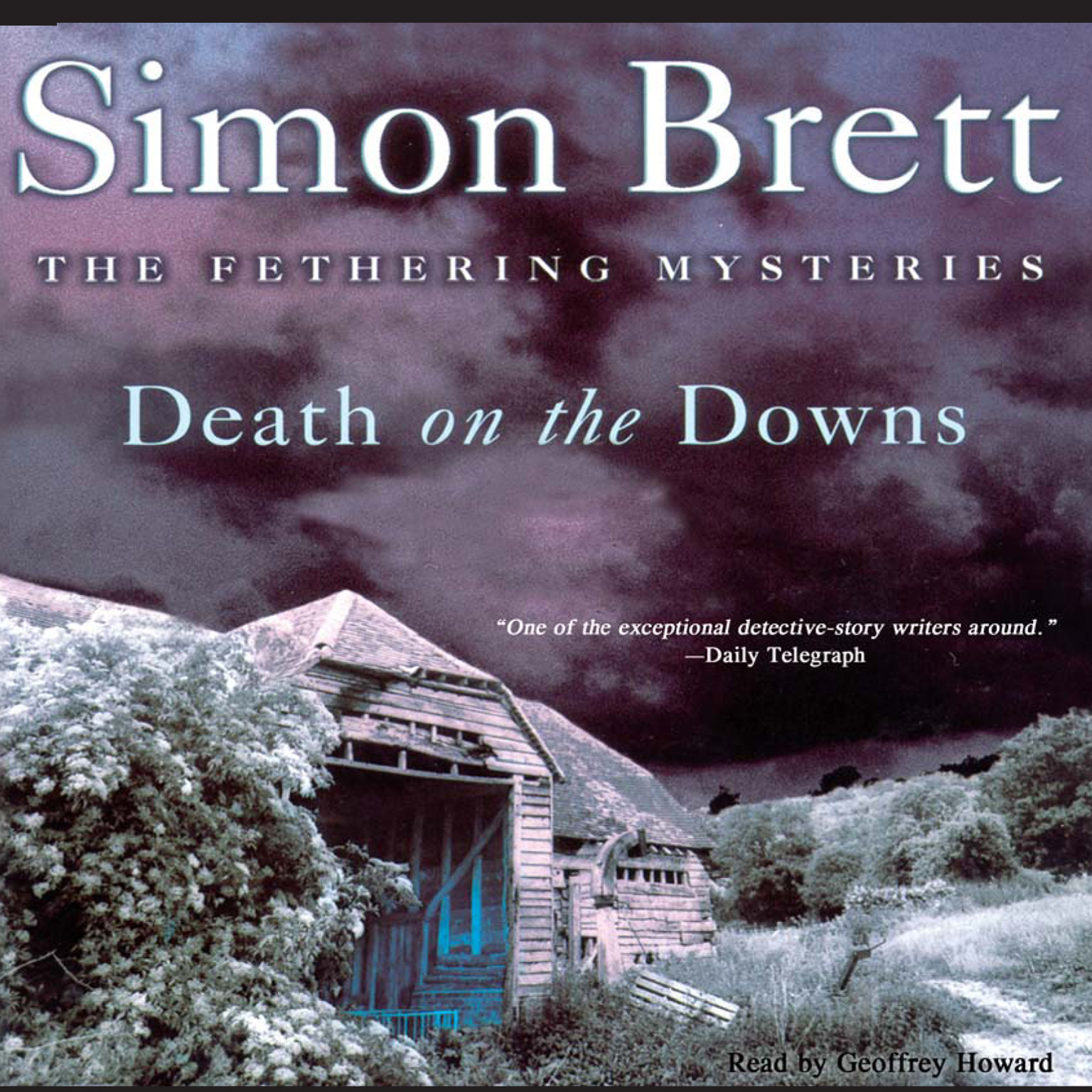 Printable Death on the Downs Audiobook Cover Art