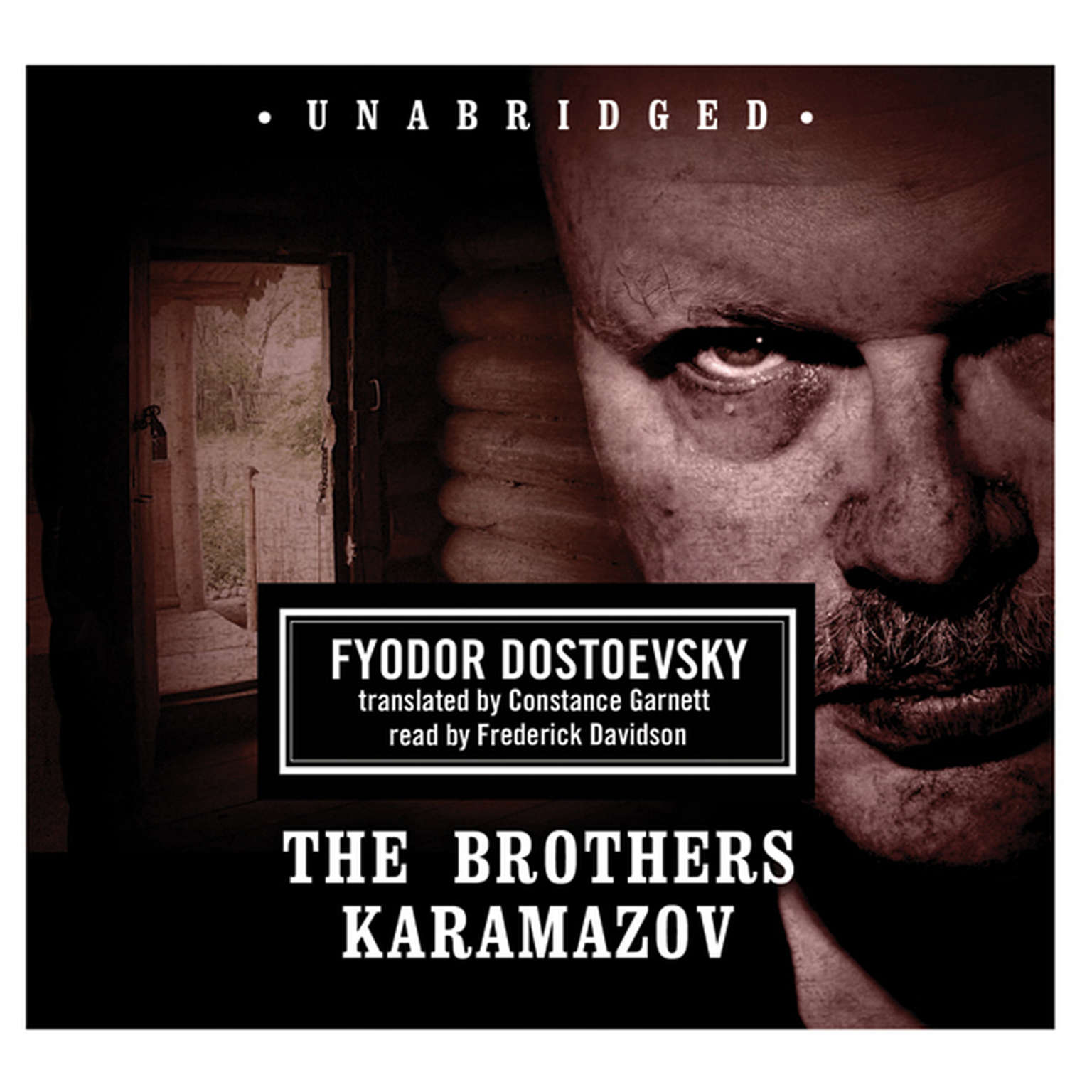 Printable The Brothers Karamazov Audiobook Cover Art
