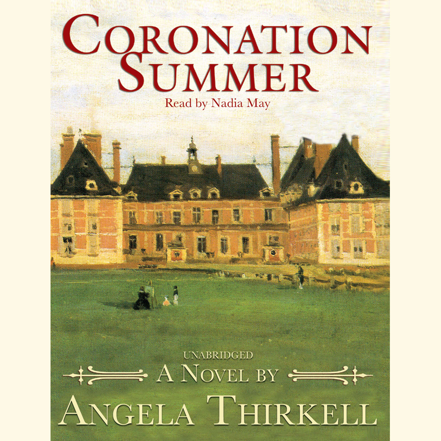 Printable Coronation Summer Audiobook Cover Art