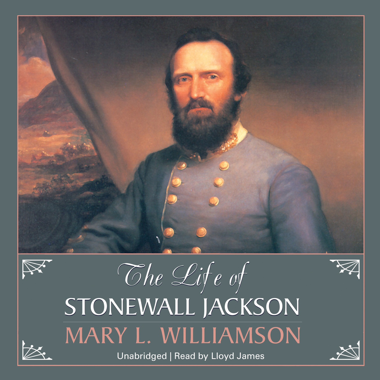 Printable The Life of Stonewall Jackson Audiobook Cover Art