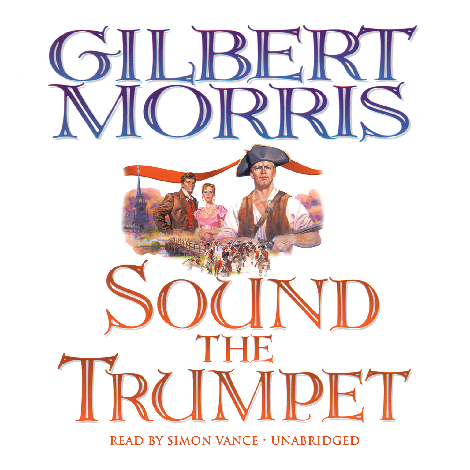Printable Sound the Trumpet Audiobook Cover Art