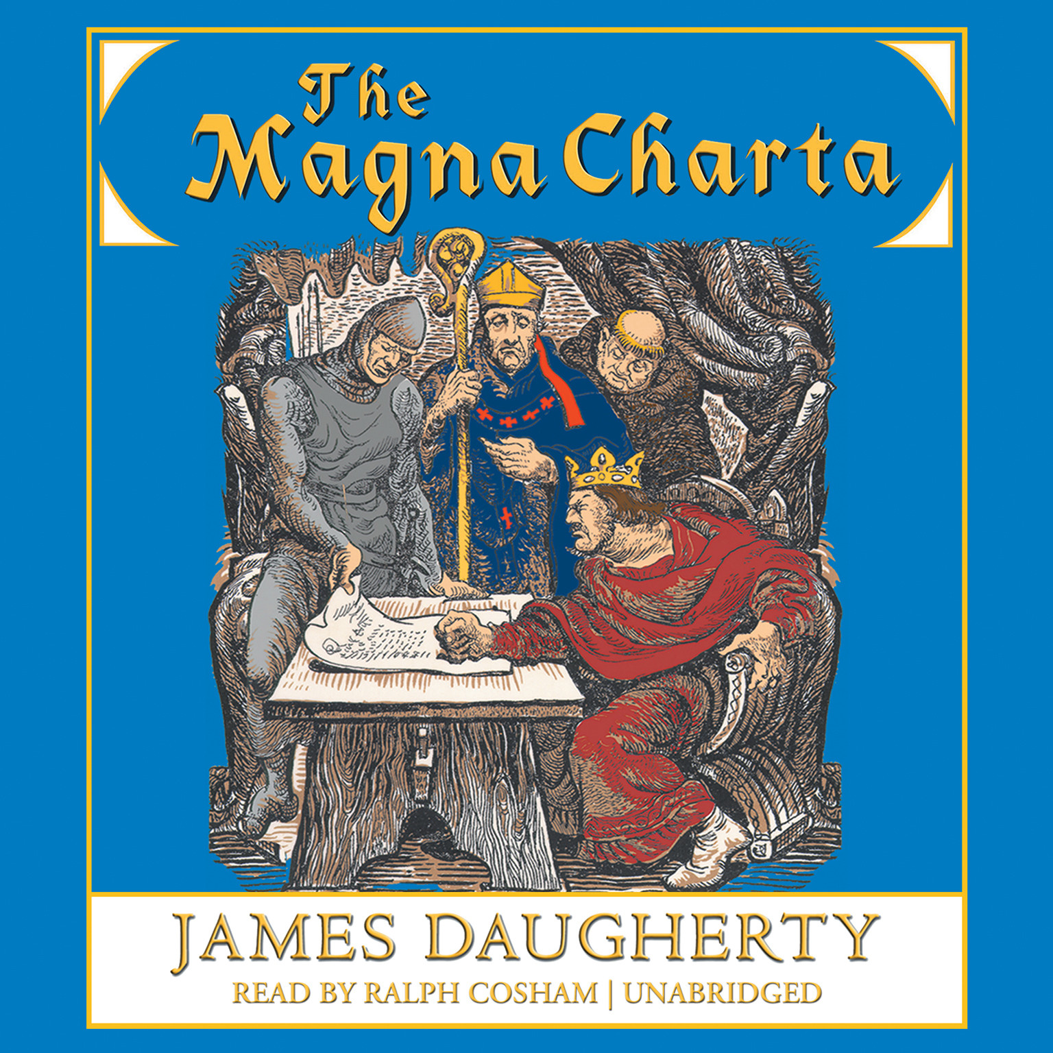 Printable The Magna Charta Audiobook Cover Art