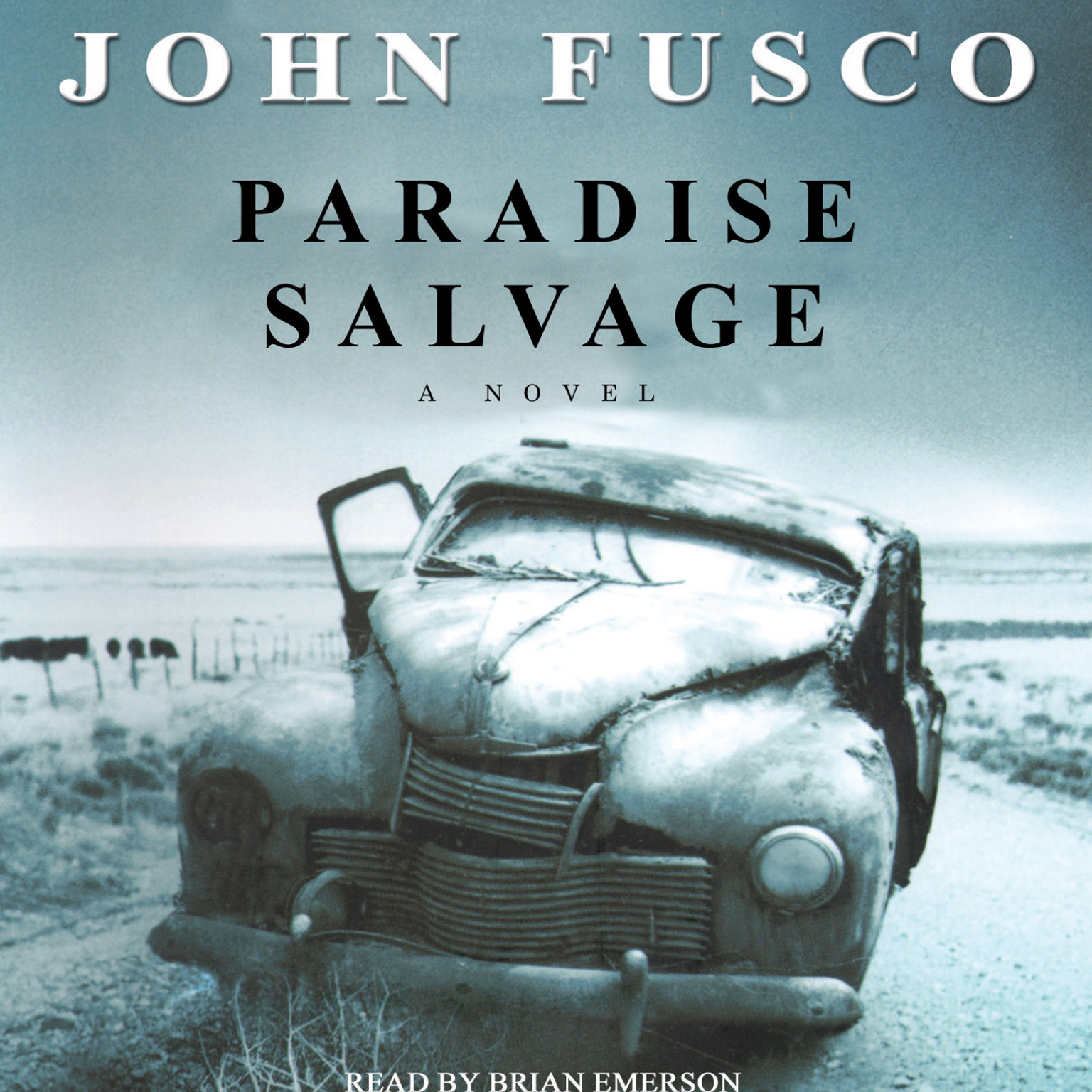 Printable Paradise Salvage Audiobook Cover Art