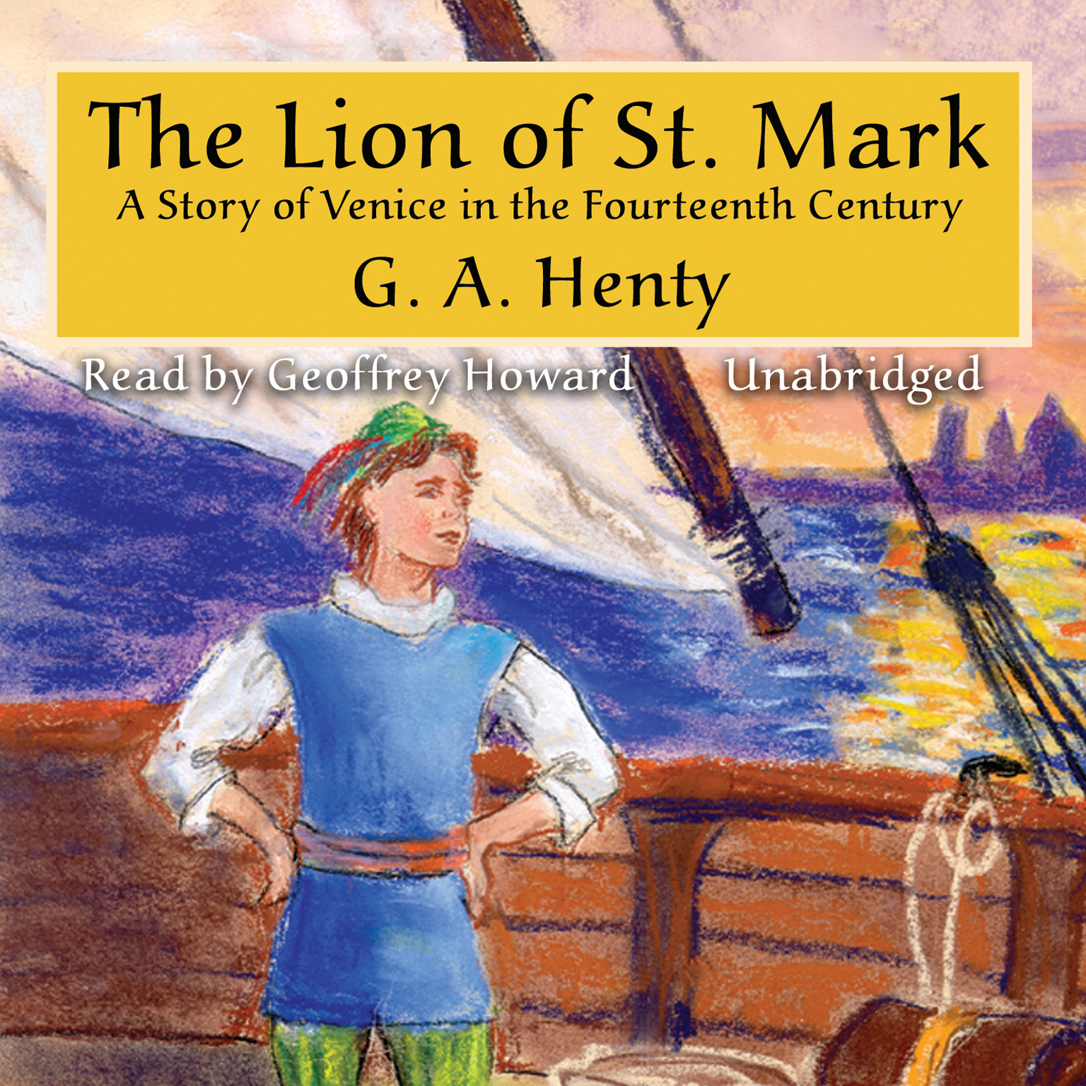 Printable The Lion of St. Mark Audiobook Cover Art